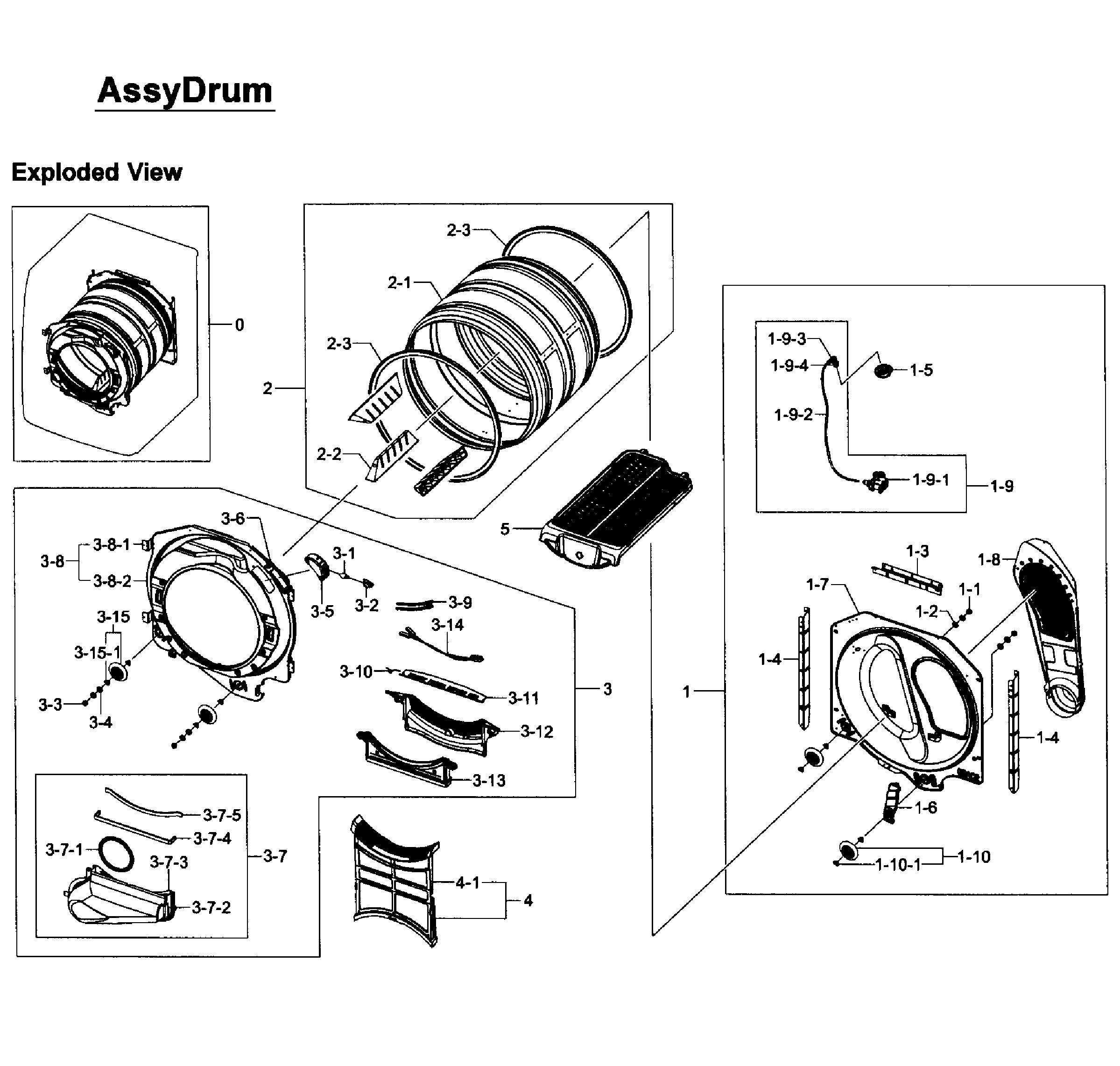 drum brake parts diagram