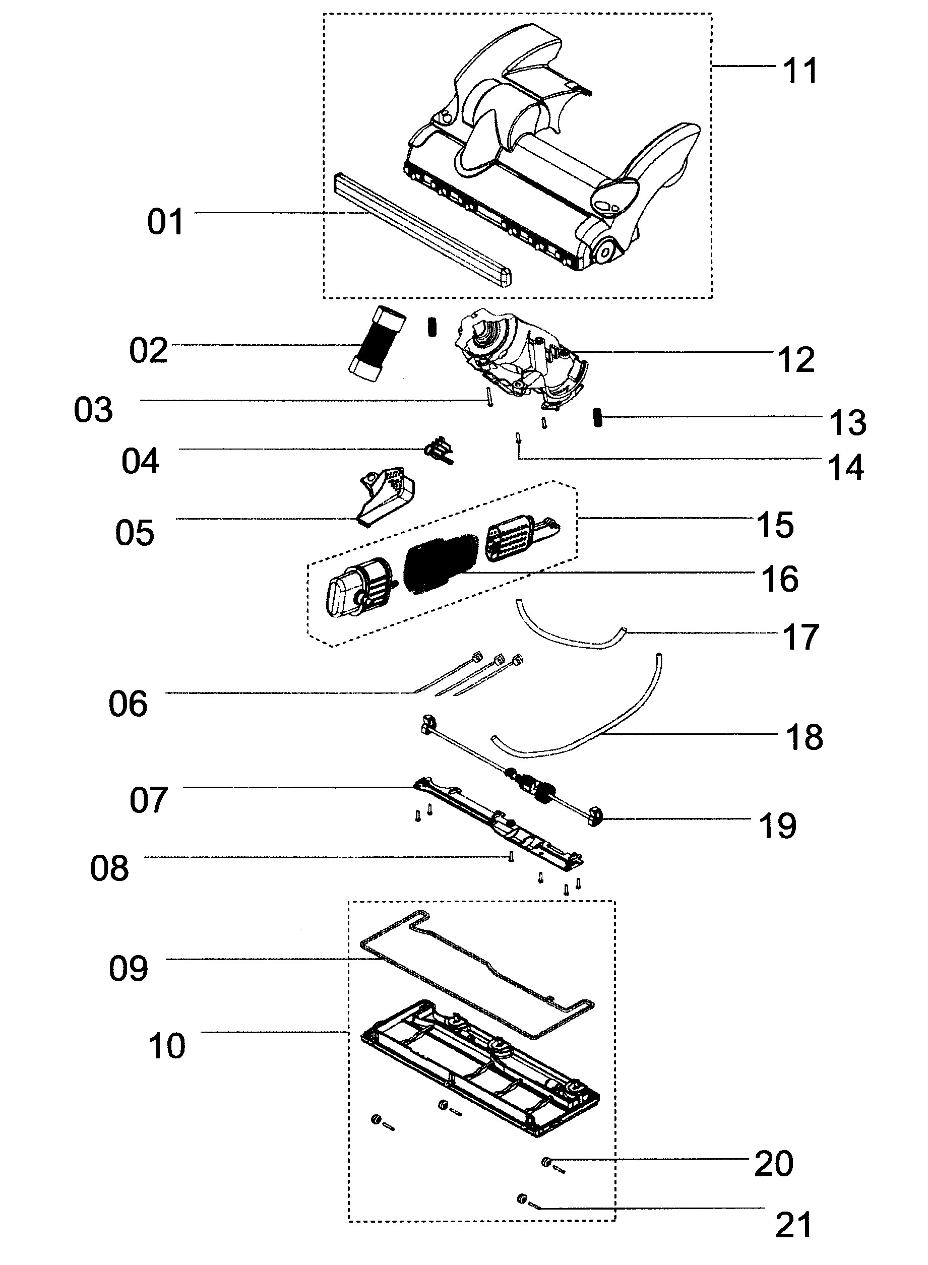 Dyson Dc15 Parts Diagram Dyson Model Dc28 Vacuum Upright Genuine Parts Of Dyson Dc15 Parts Diagram