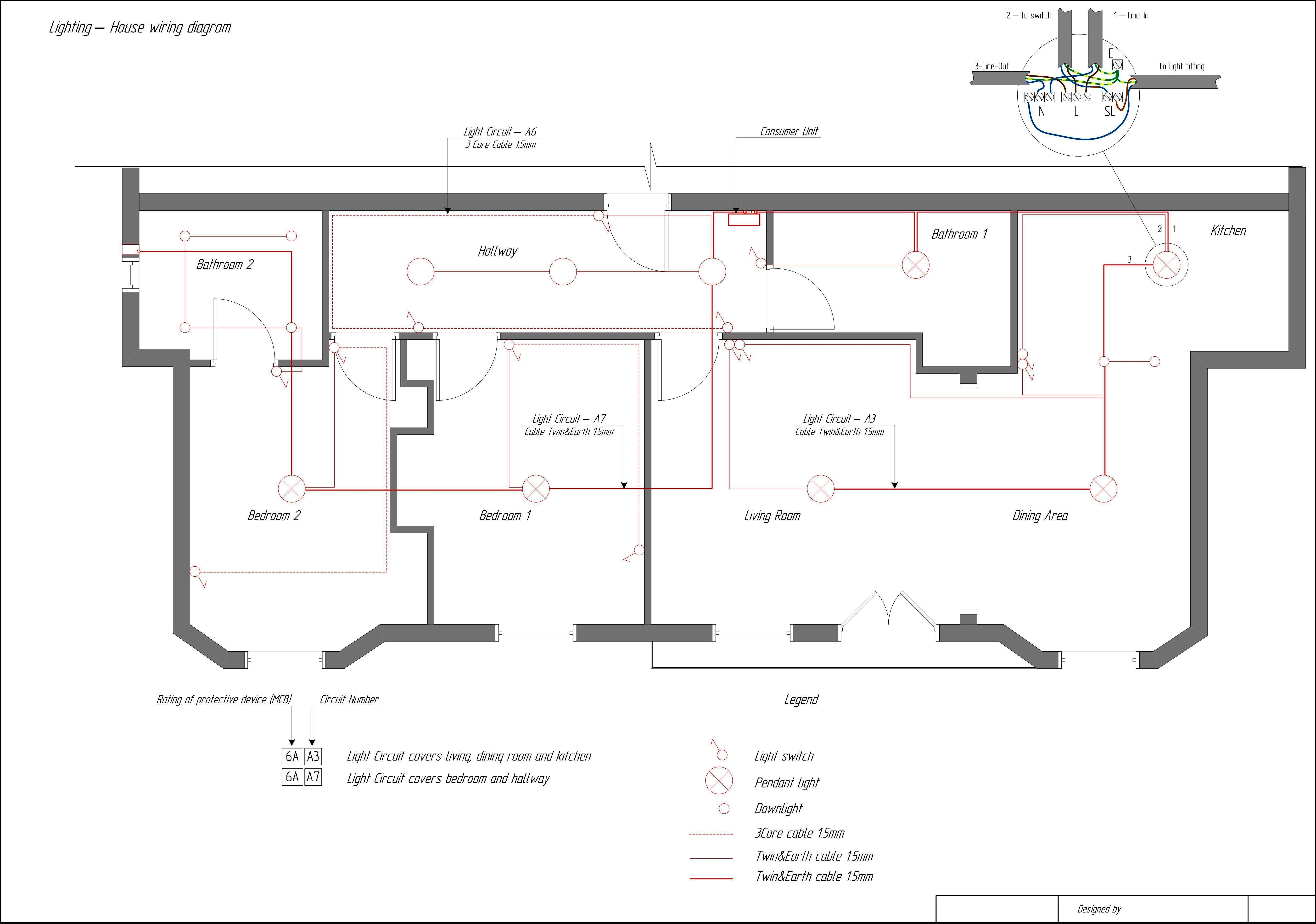 Electric House Wiring Diagram House Wiring Circuits Wiring Diagrams