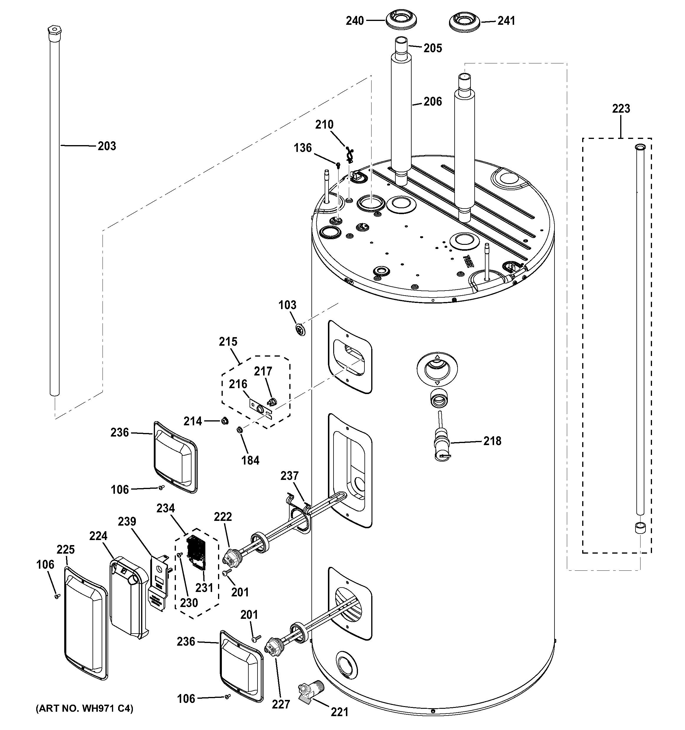 [ZHKZ_3066]  Sears Electric Water Heater Parts | Sears Water Heater Wiring Diagram |  | Best Water Heater