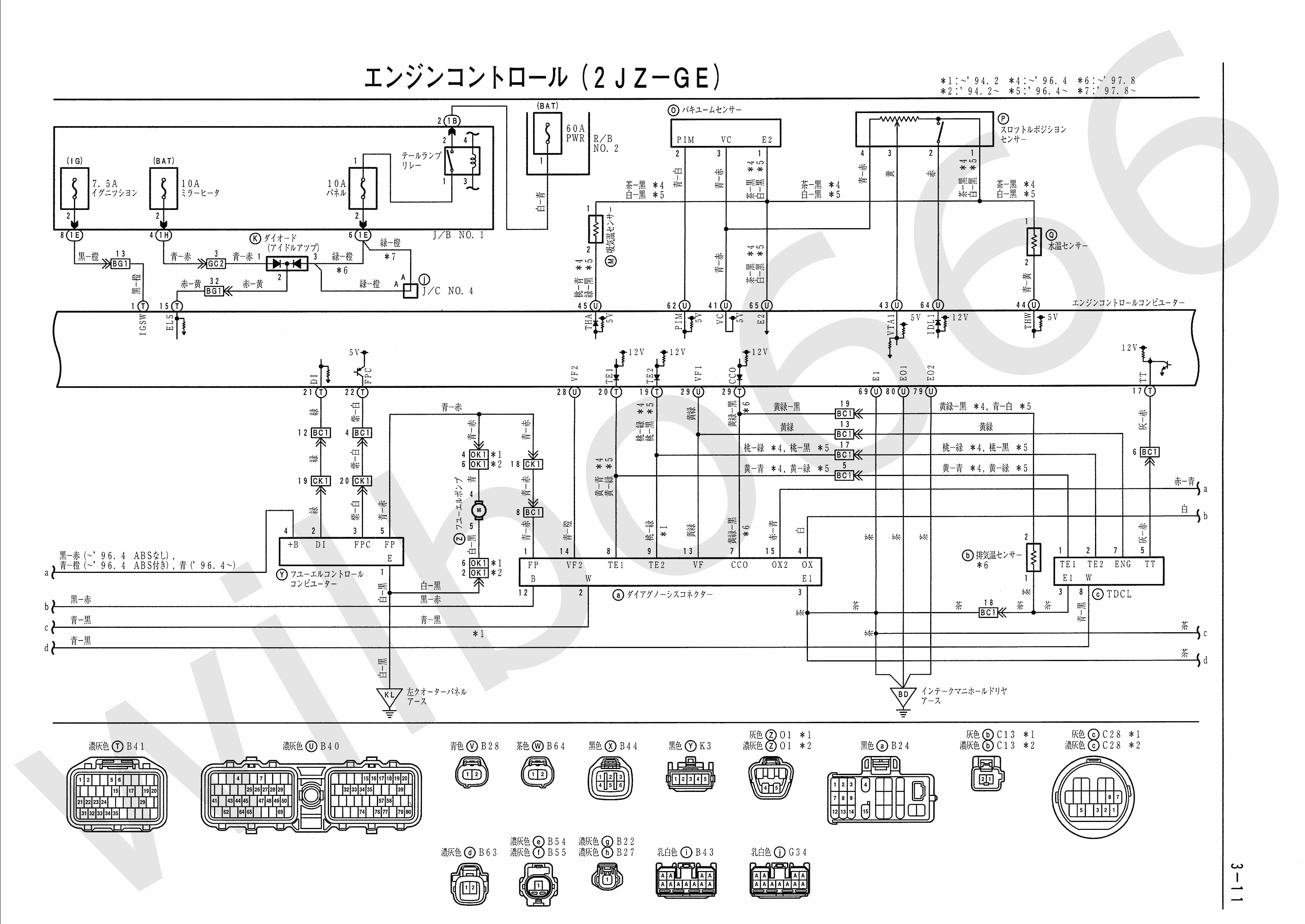 Engine Coolant Temperature Sensor Wiring Diagram 1jz Series Ecu Harness And Wilbo666 2jz Ge Jza80 Supra Of