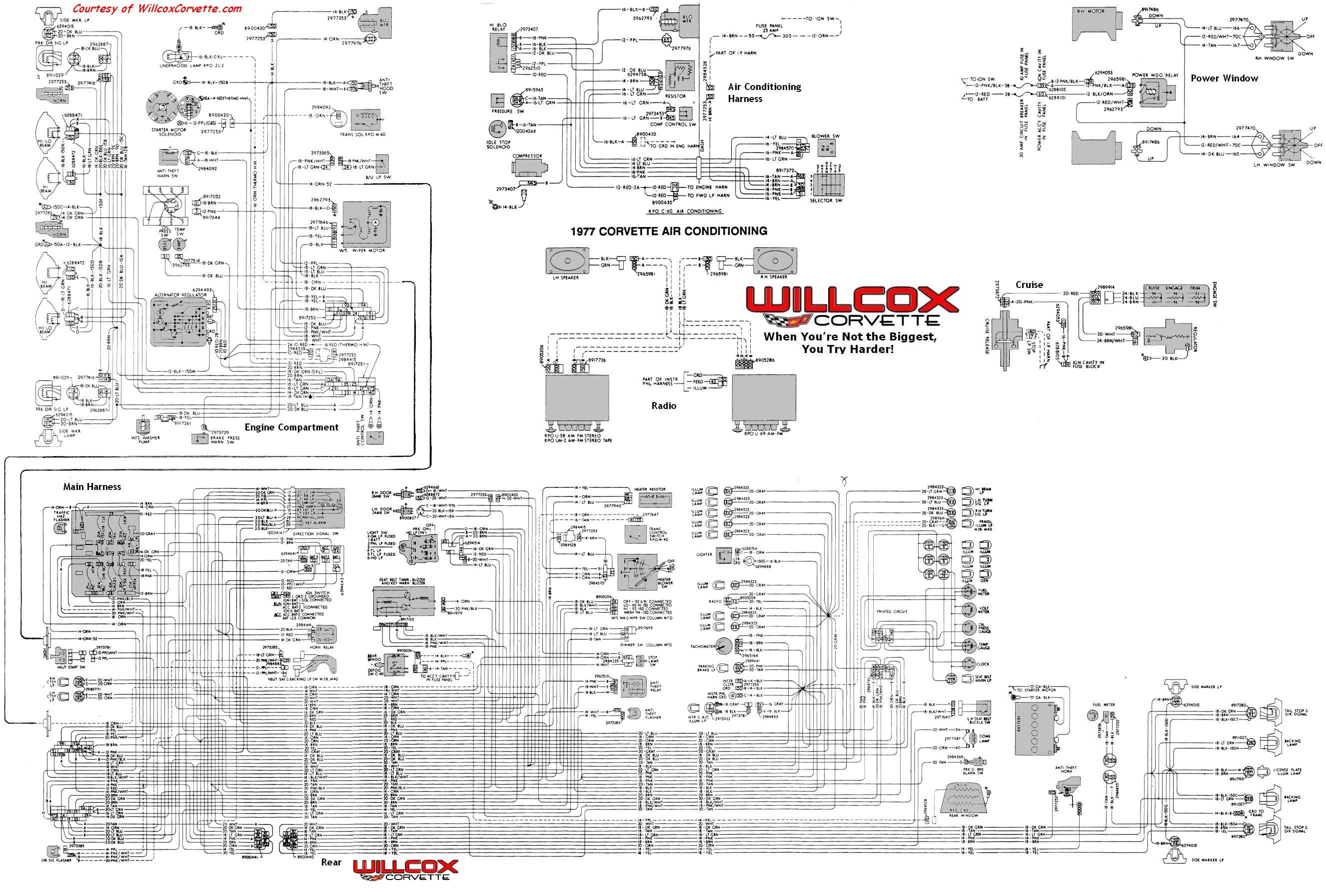 Engine Starter Diagram 1977 Chevy Truck Wiring Diagram 1977 Circuit Diagrams Wiring Info • Of Engine Starter Diagram