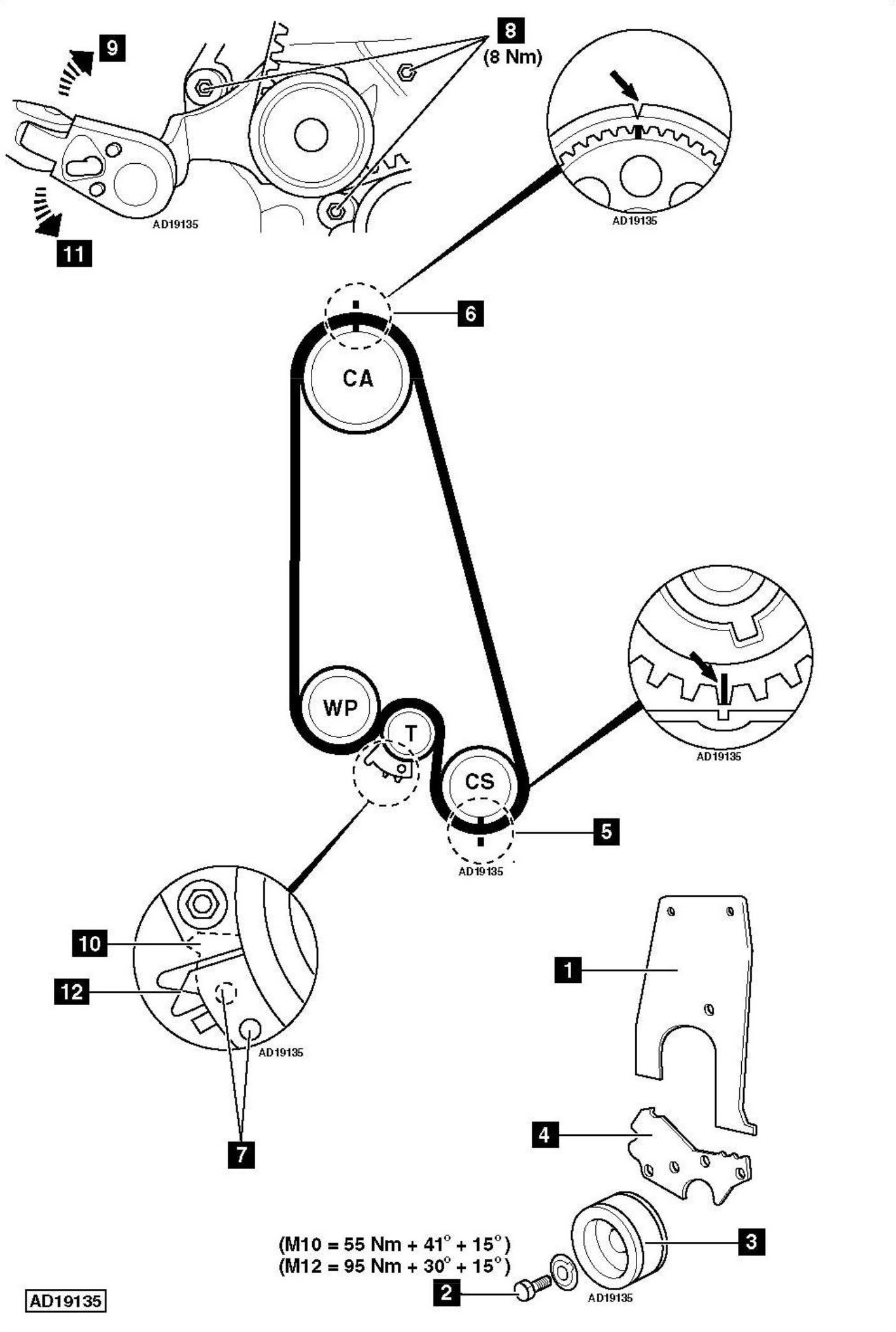 Engine Timing Diagram 55 Corsa B Timing Chain Vauxhall Corsa Agila astra Meriva Timing Of Engine Timing Diagram