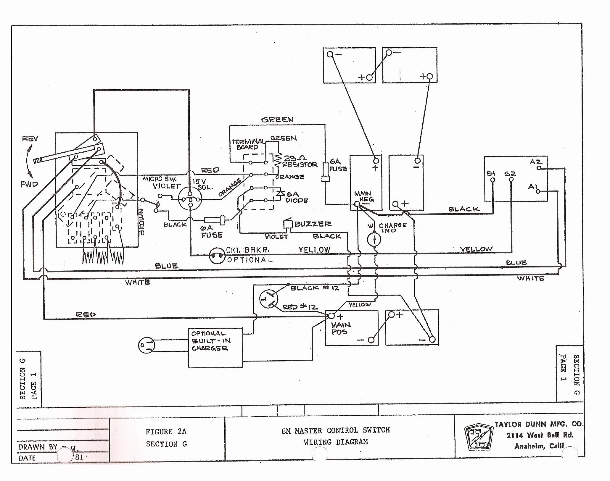 1995 Ez Go Medalist Wiring Diagram