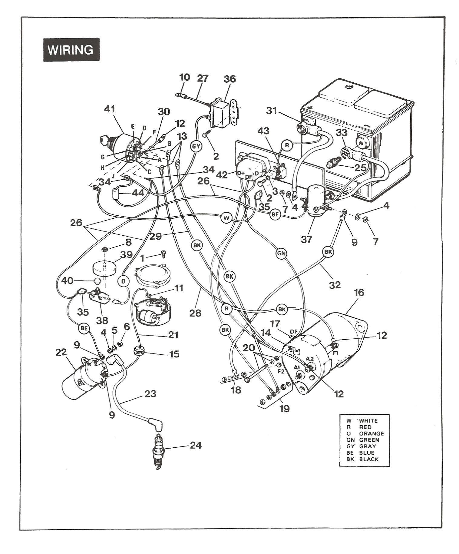 Ez Go Golf Cart Battery Wiring Diagram Schön 1984 Ezgo Schaltplan Galerie Schaltplan Serie Circuit Of Ez Go Golf Cart Battery Wiring Diagram
