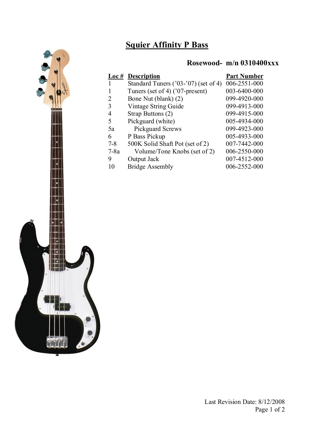 Squier Affinity P Bass Wiring Diagram Solutions Fender Precision Stunning
