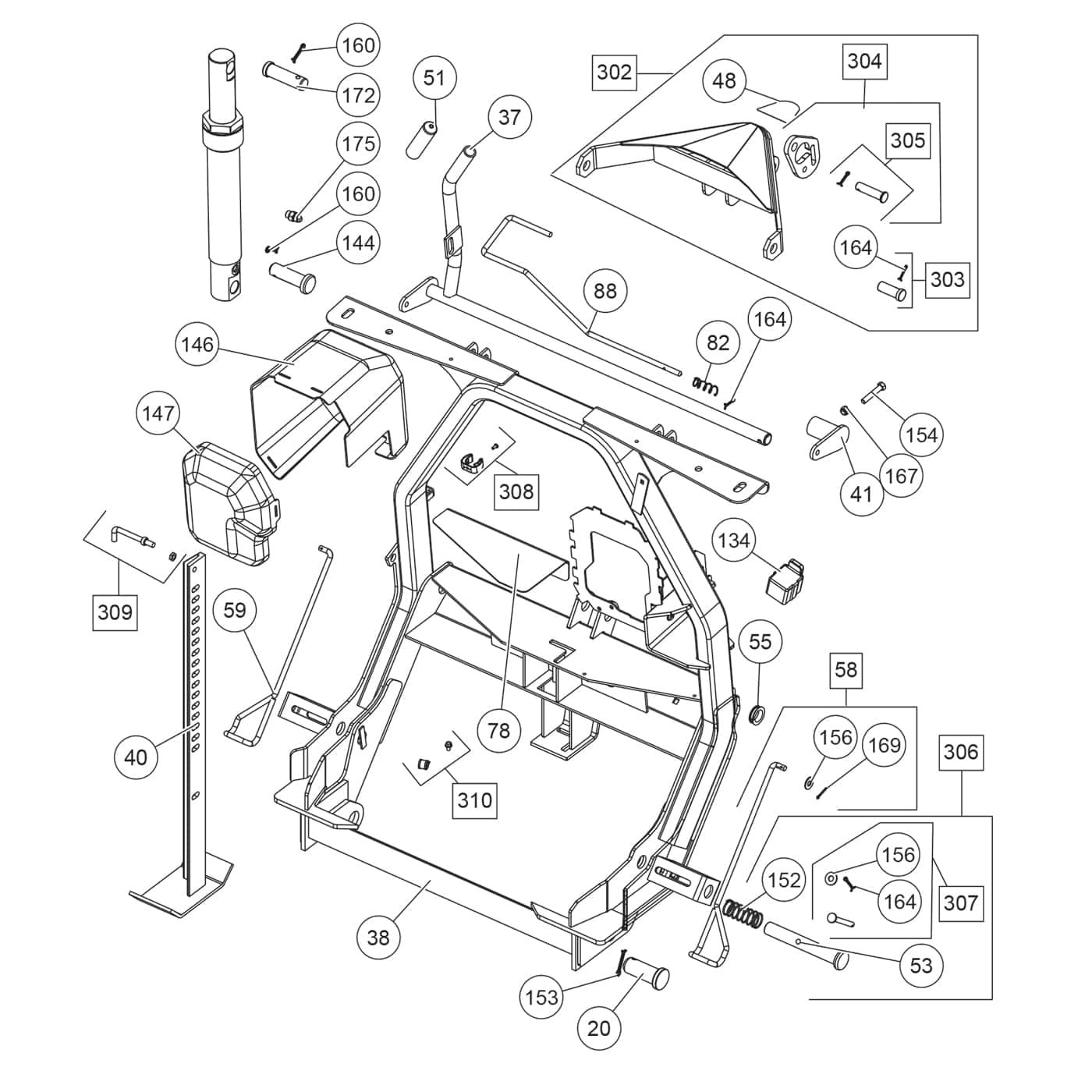Fisher Snow Plow Parts Diagram Fisher Mcs Hc Mc Series Headgear ...