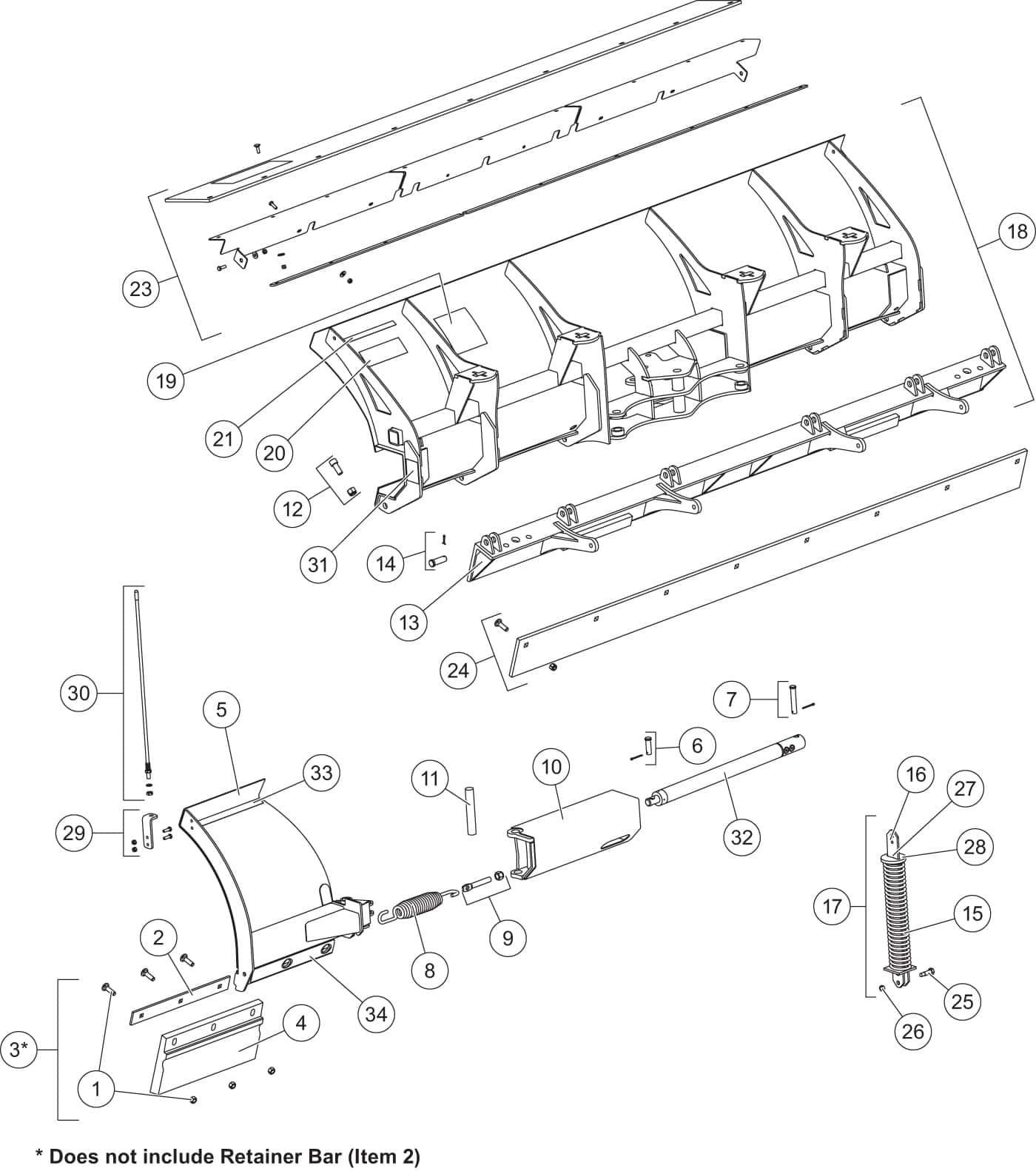 Fisher Snow Plow Parts Diagram Iteparts Intercon Truck Equipment ...