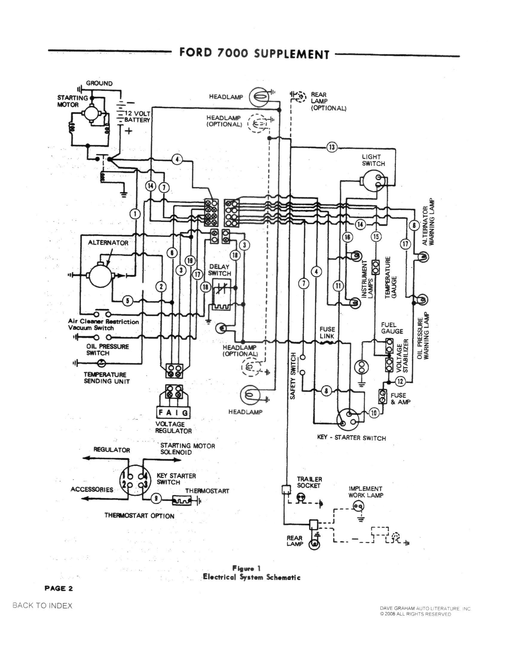 Ford 4600 Wiring Schematic Wiring Diagram Database
