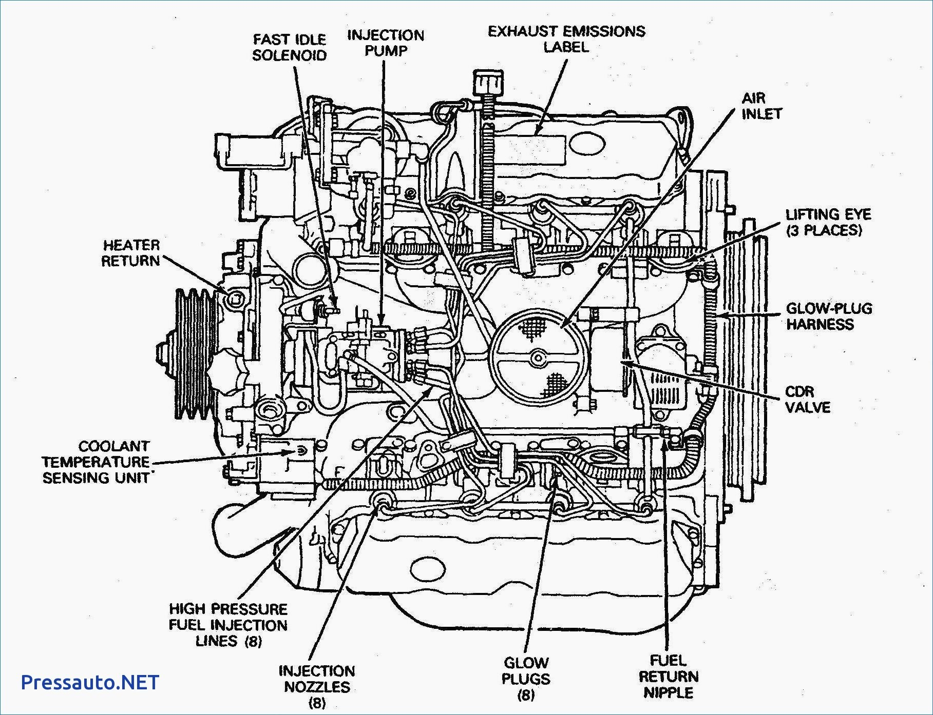 5b3698 Ford 7 3 Glow Plug Wiring Diagram Wiring Resources