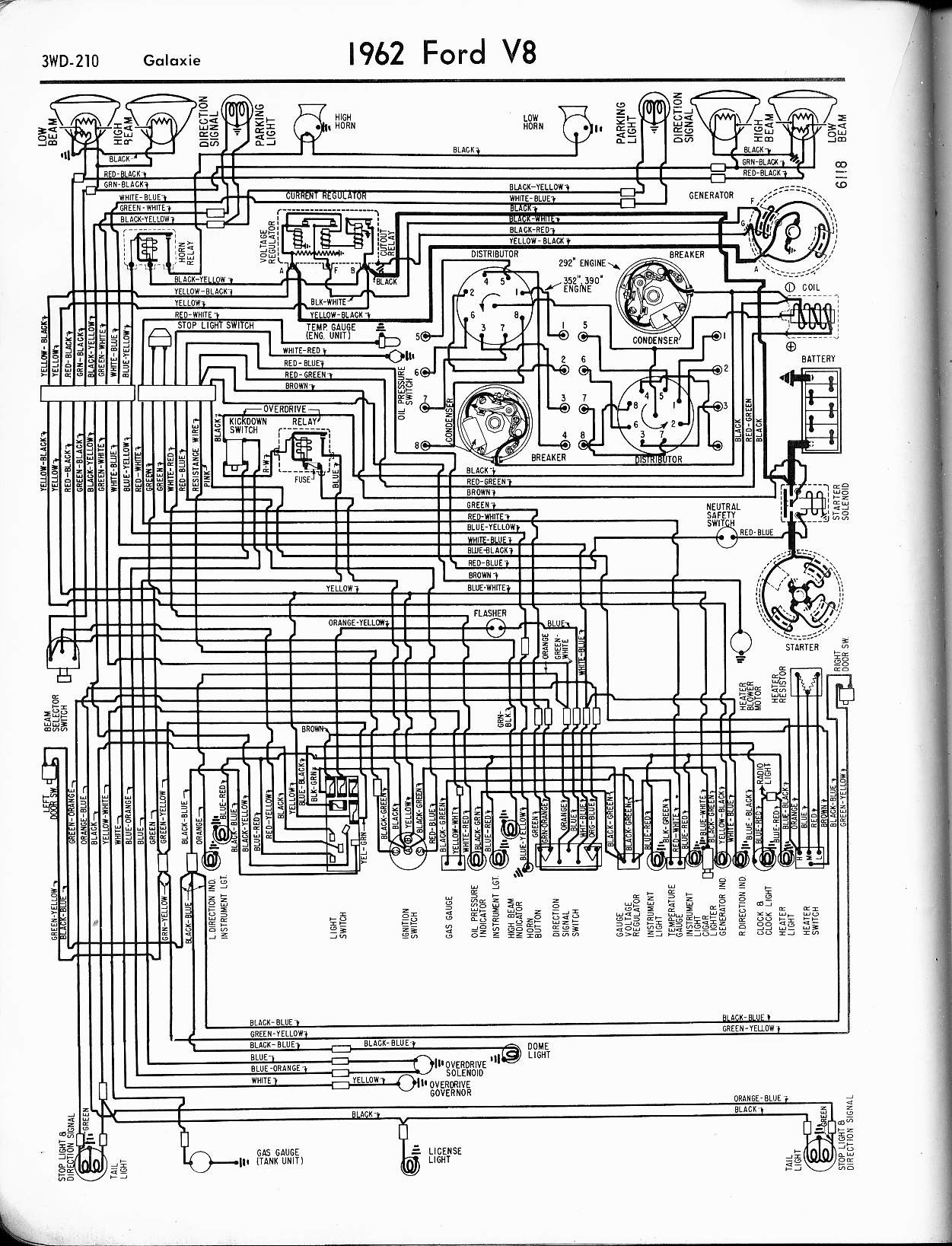 1965 Ford Falcon Ranchero Wiring Diagram Electrical Diagrams V8 Engine Block Galaxie Automotive U2022 Rh Carwiringdiagram Today 1964 Futura Fader