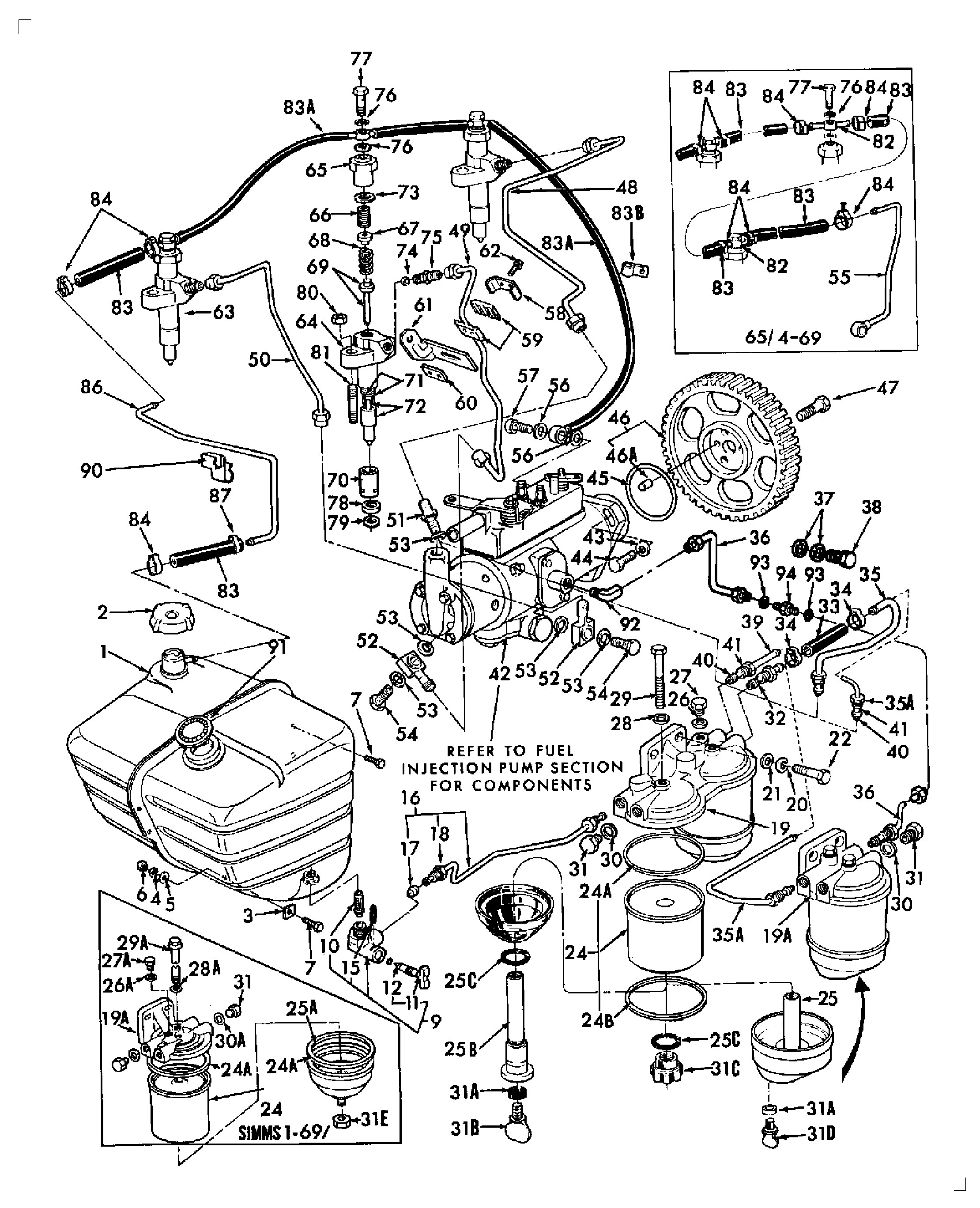 ford 4000 fuel diagram schematic wiring diagram u2022 rh freewiring today ford 4000 fuel system diagram 1962 Ford 4000