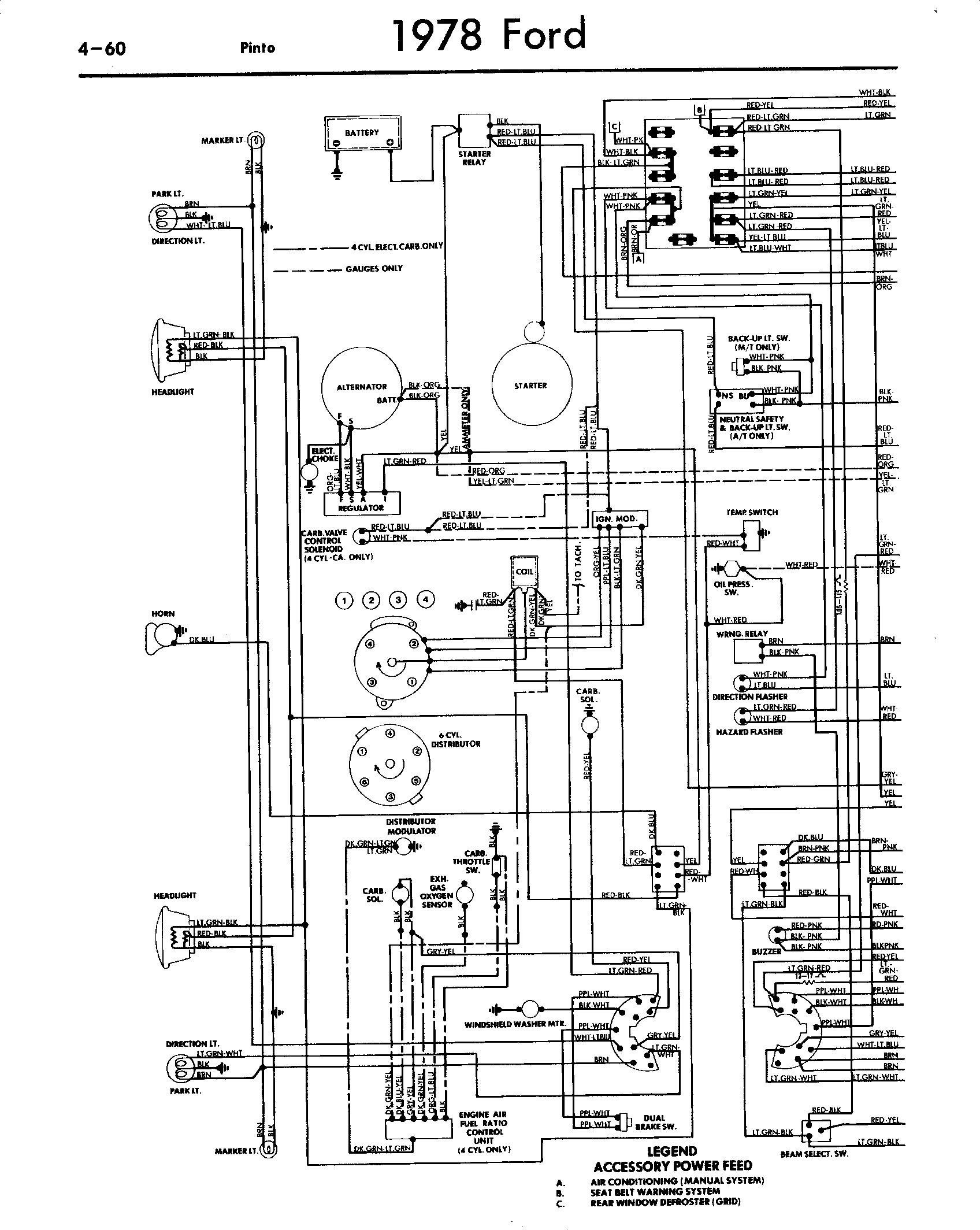 Ford Pinto Schematic Wire Center Chevette Wiring Diagram Circuit 6 0 Engine My Rh Detoxicrecenze Com Chevy Amc Pacer