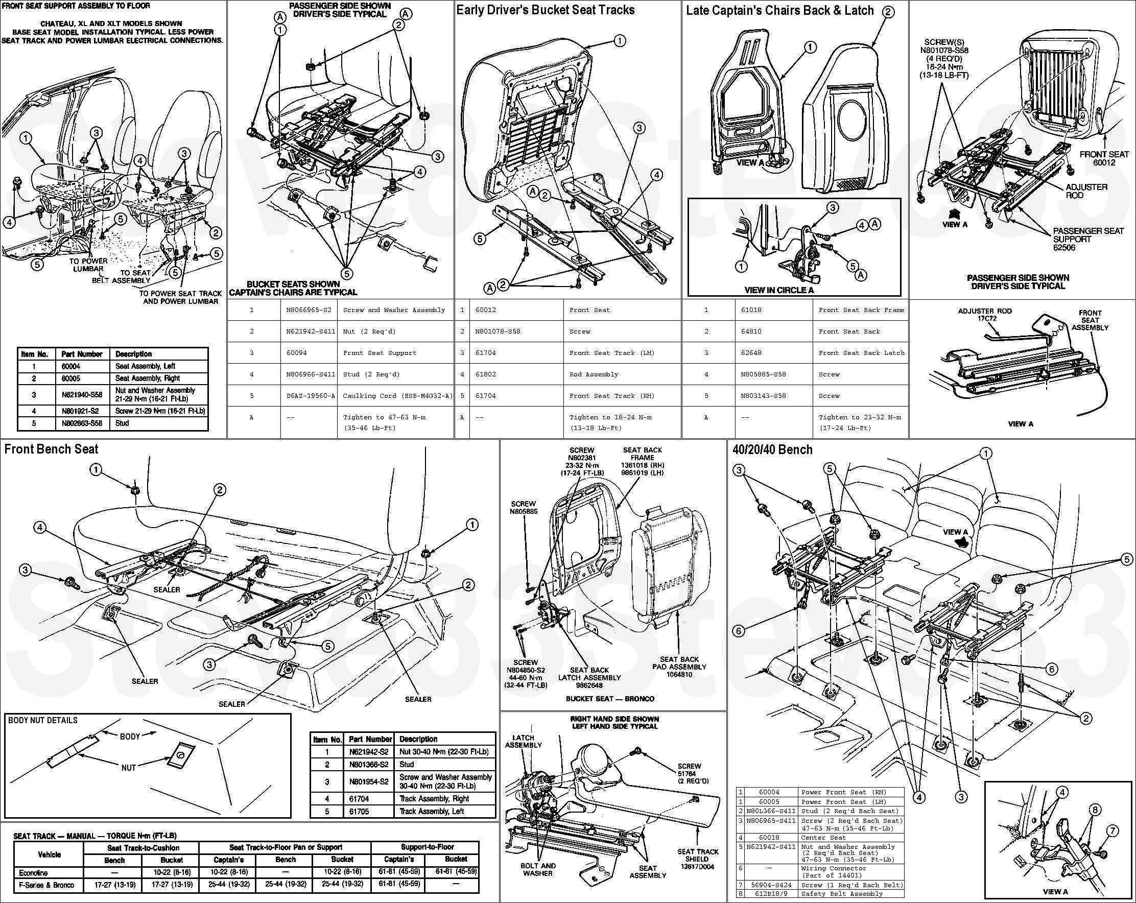 Ford Excursion Parts Diagram 1994 Bronco Pure Bs Stuff Wiring Best Early Gallery Everything You Need To Of