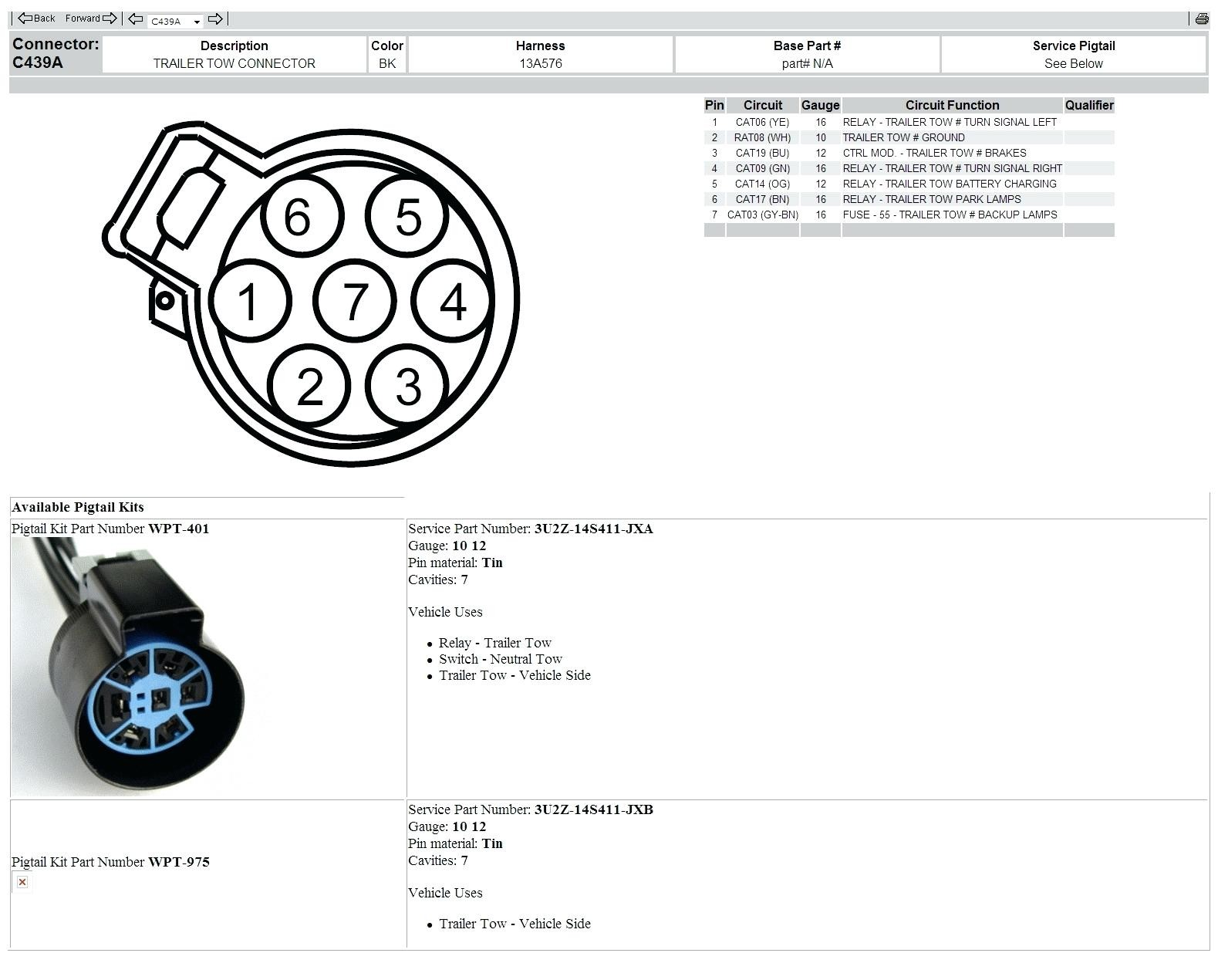 ford f150 trailer wiring harness diagram wiring diagram for 13 pin rh detoxicrecenze com