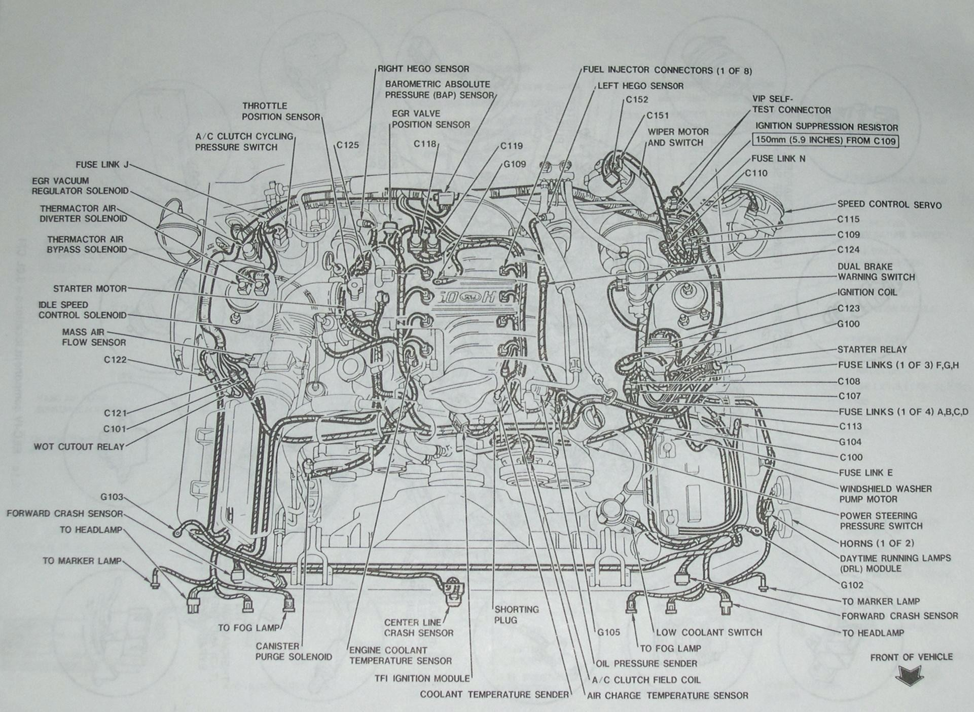 2009 Mustang Engine Diagram