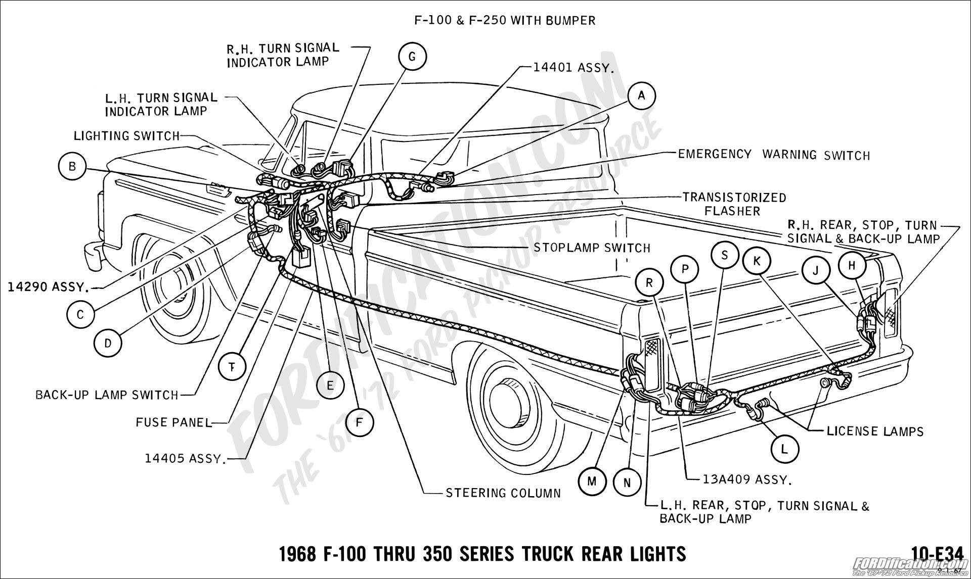 Ford Ranger Parts Diagram ford Truck Technical Drawings and Schematics Section H Wiring Of Ford Ranger Parts Diagram