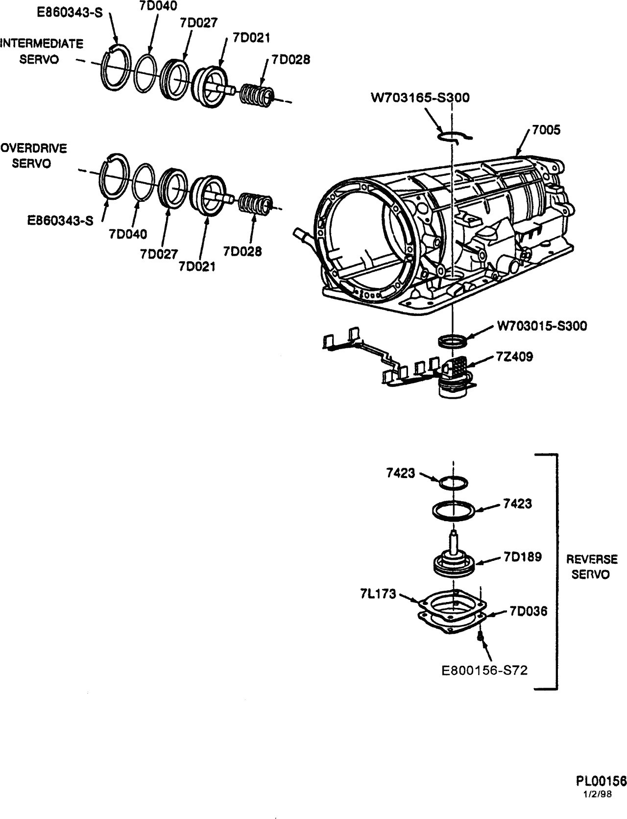 Ford Ranger Parts Diagram Trans Leak Exploded View Of 4r44e Automatic Trans Ranger forums Of Ford Ranger Parts Diagram