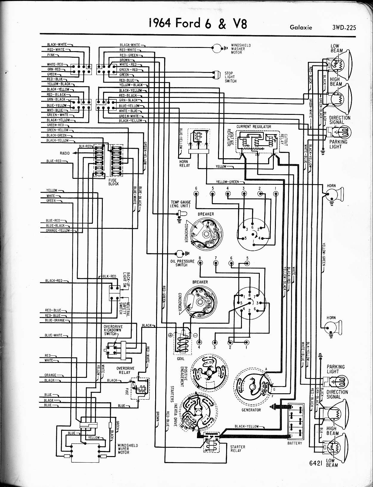 Ford Transit Engine Diagram 57 65 ford Wiring Diagrams – My Wiring ...