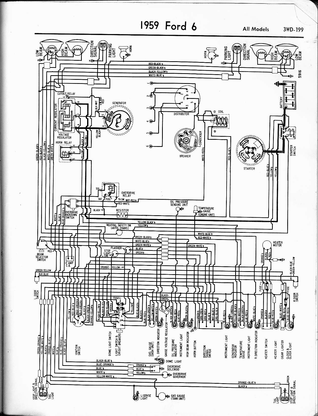 Ford Truck Wiring Diagrams 57 65 ford Wiring Diagrams Of Ford Truck Wiring Diagrams