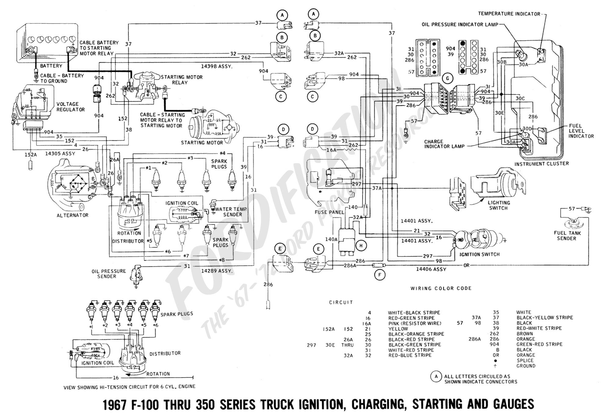 Ford Truck Wiring Diagrams ford Truck Technical Drawings and Schematics Section H Wiring Of Ford Truck Wiring Diagrams