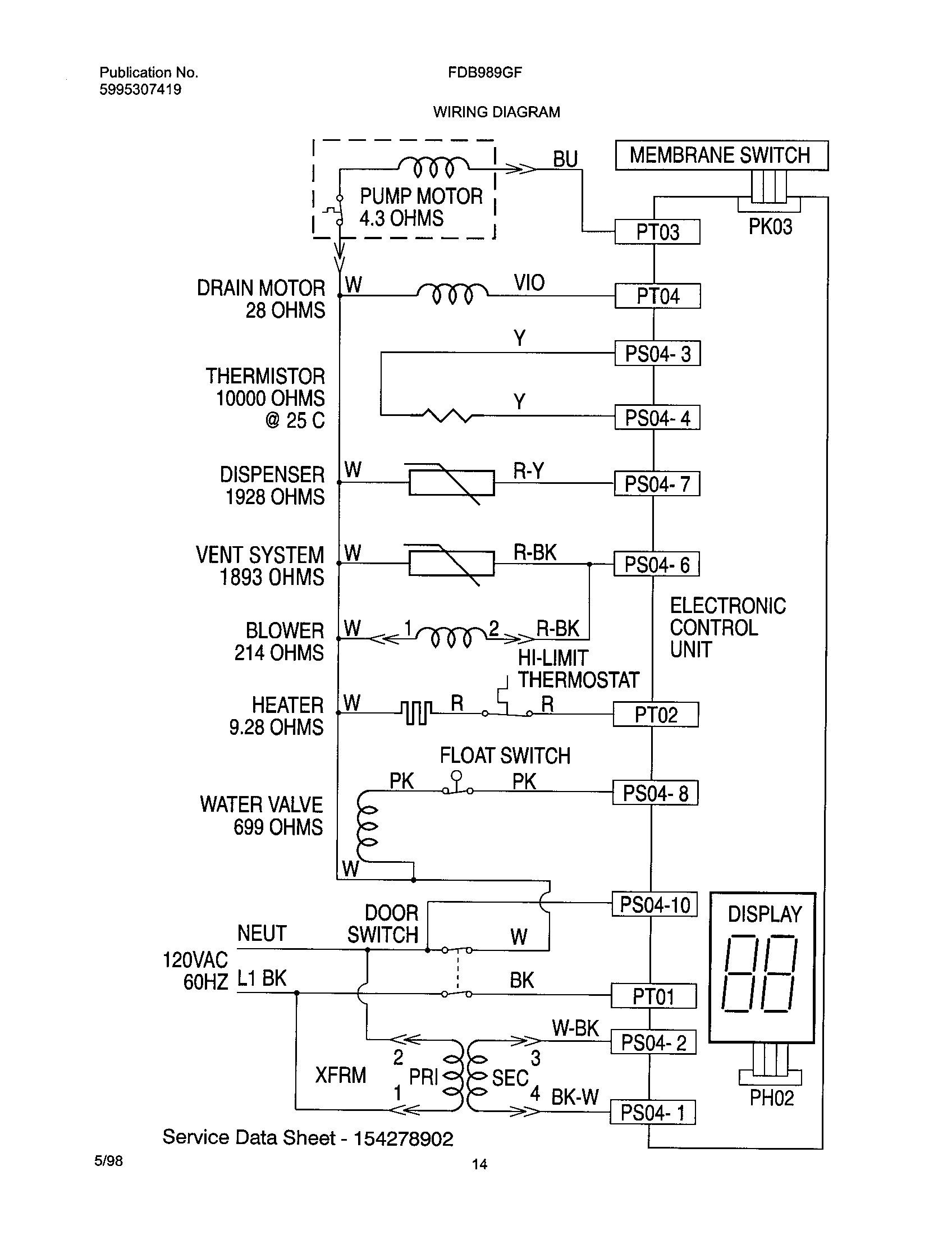 frigidaire fefbc68cba electric range wiring diagram house wiring rh maxturner co GE Stove Wiring-Diagram Electric Range Wiring Diagram