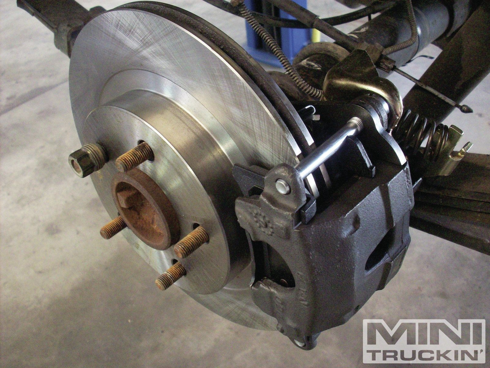 Front Drum Brake Diagram Chevy S10 Rear Disc Brake Conversion bye bye to Dumb Drums Mini Of Front Drum Brake Diagram