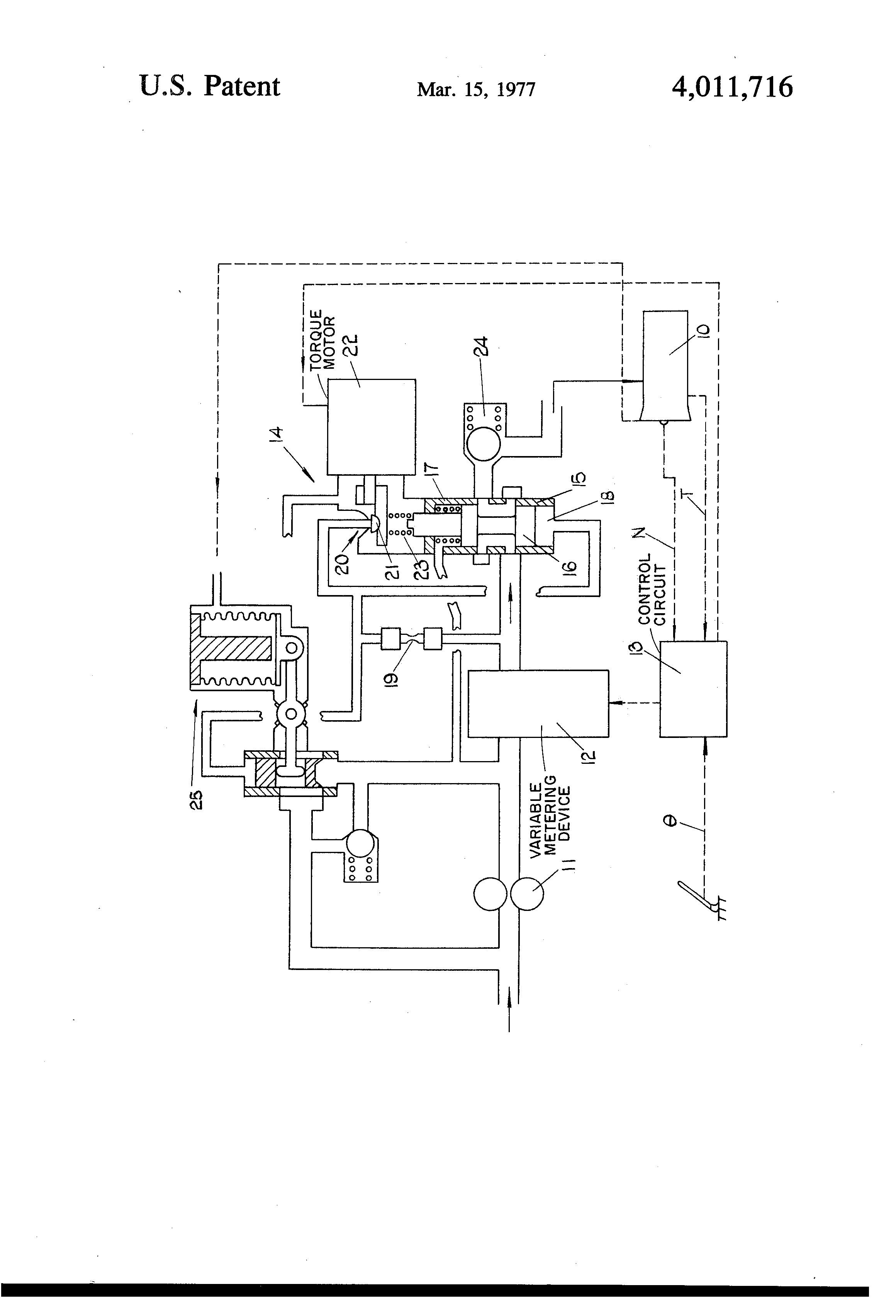 gas turbine engine diagram patent us fuel control system