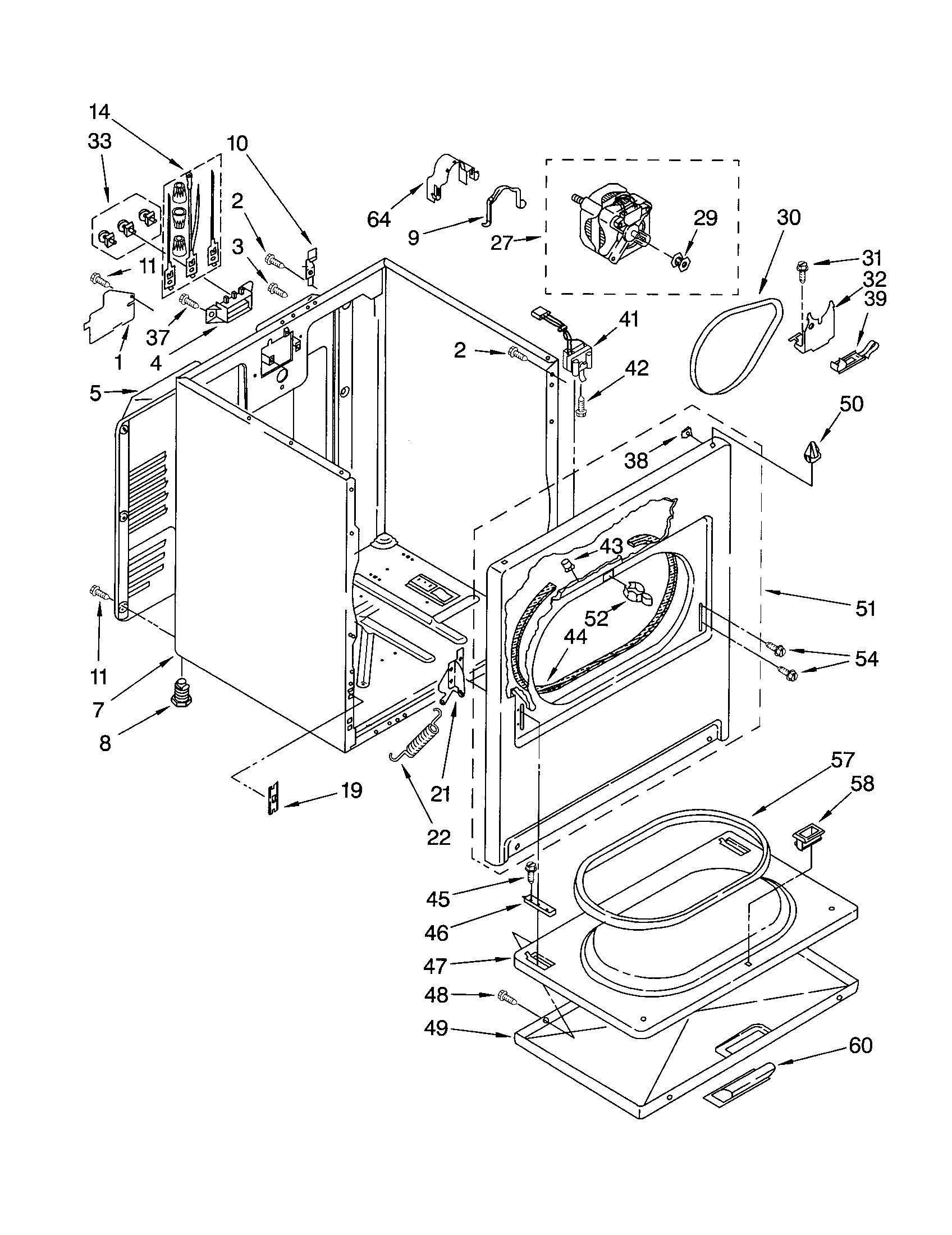 Ge Dryer Parts Diagram Model Gtwn4250d2ws Residential Washers Wiring For Washer In Addition Roper Electric Also Of
