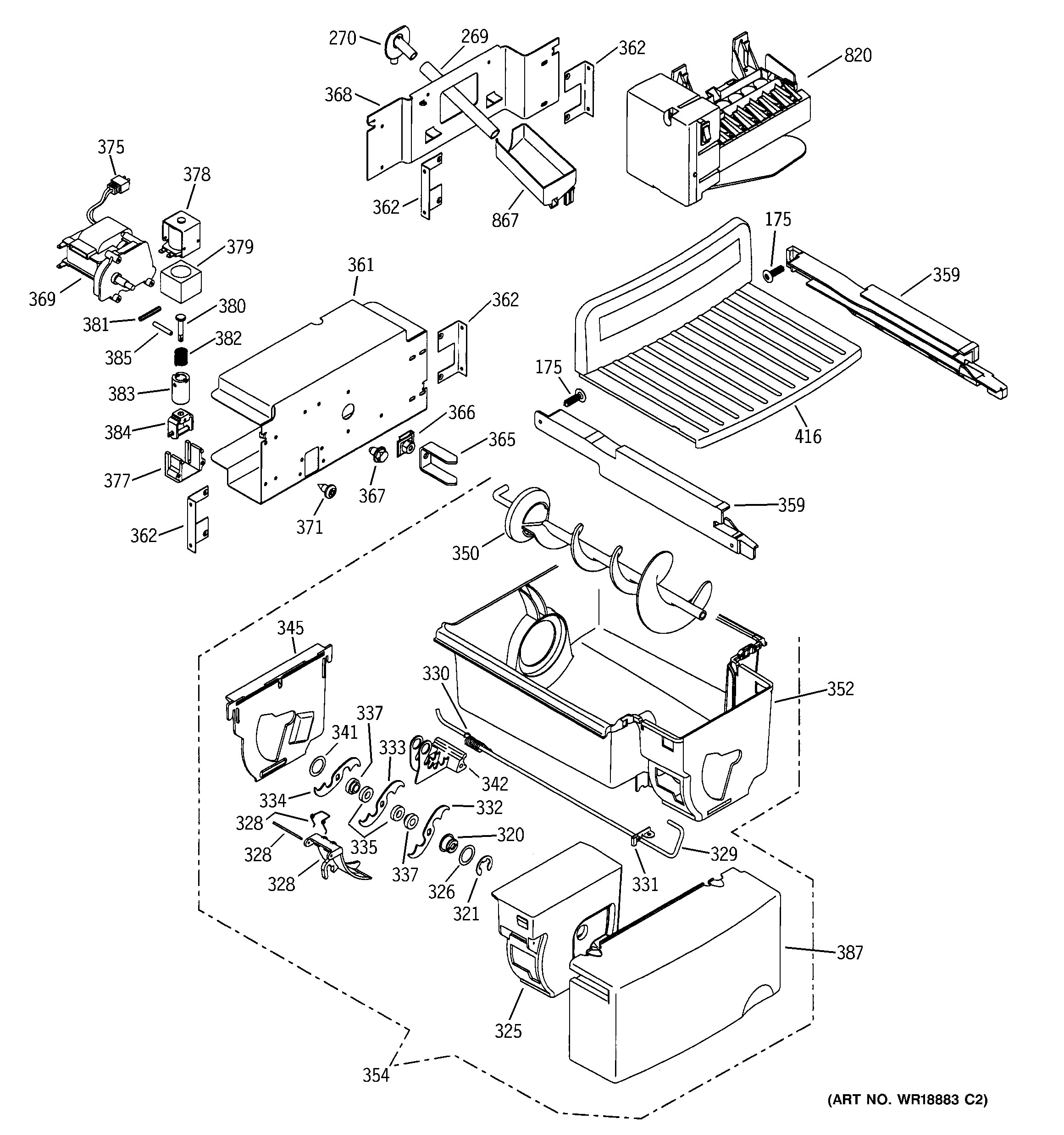 Ge Ice Maker Parts Diagram Ge Turbine Parts Win S Online Of Ge Ice Maker Parts Diagram