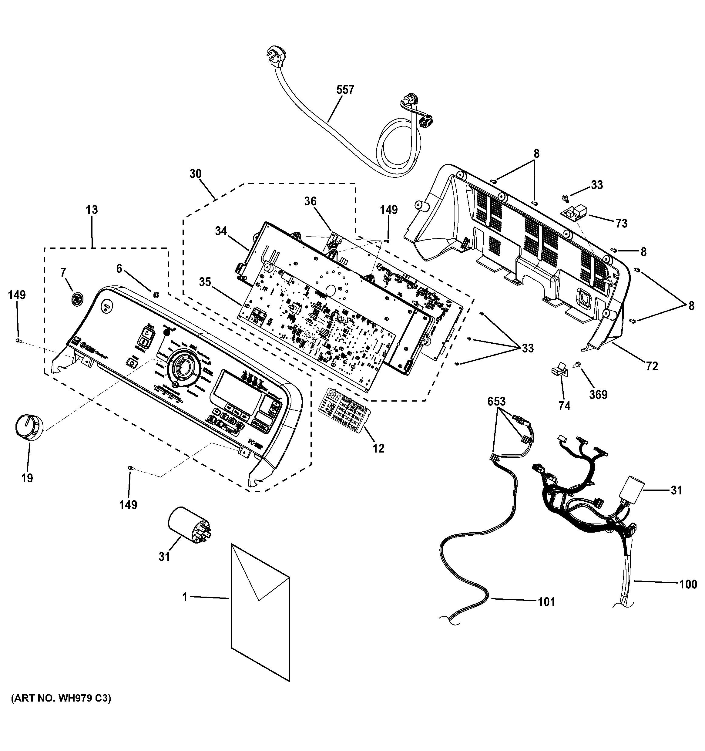 Ge Microwave Parts Diagram Ge Model Gtwn7450d0ww Residential Washers Genuine Parts Of Ge Microwave Parts Diagram