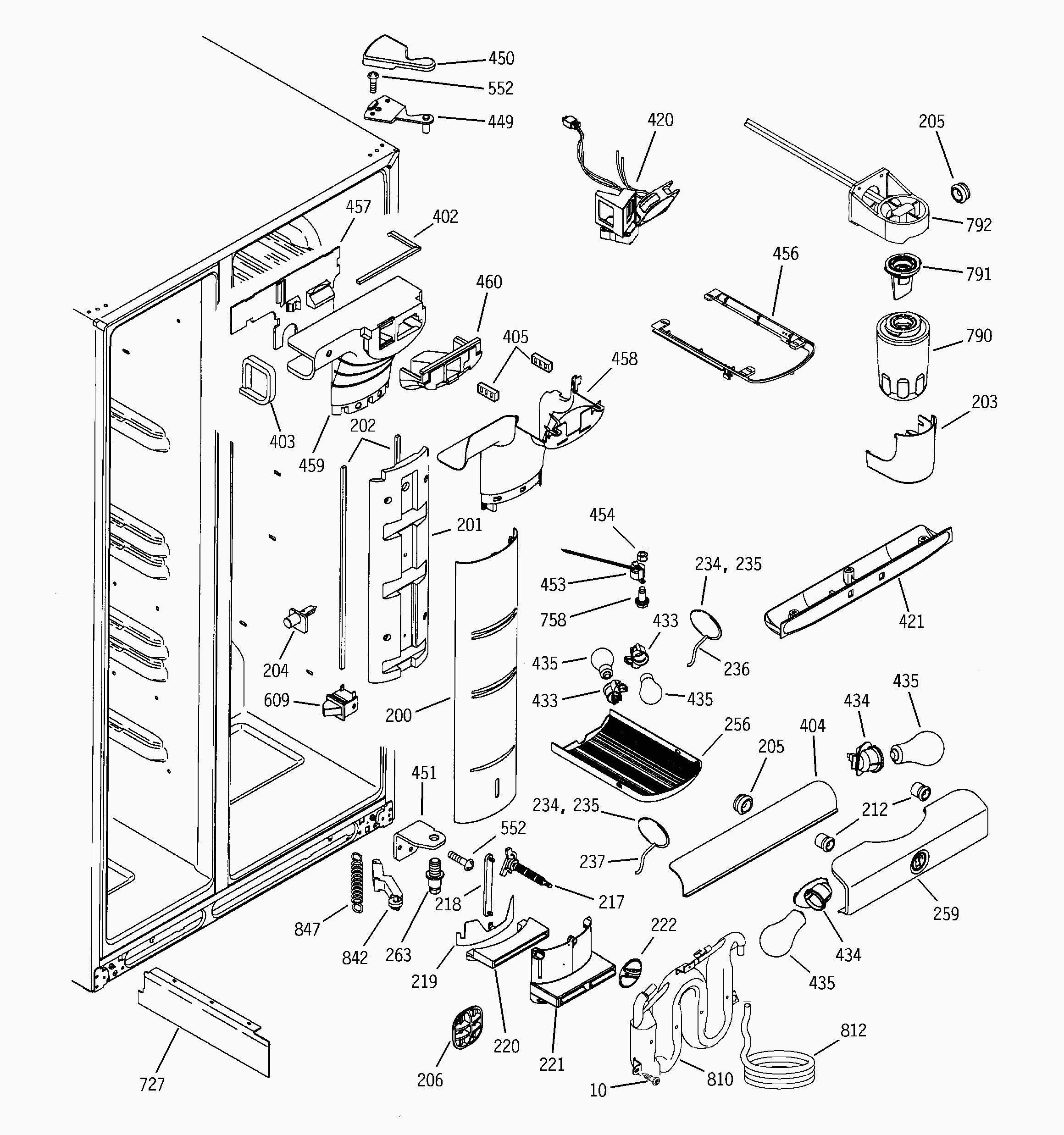 ge monogram refrigerator parts diagram whirlpool 6wri24wk