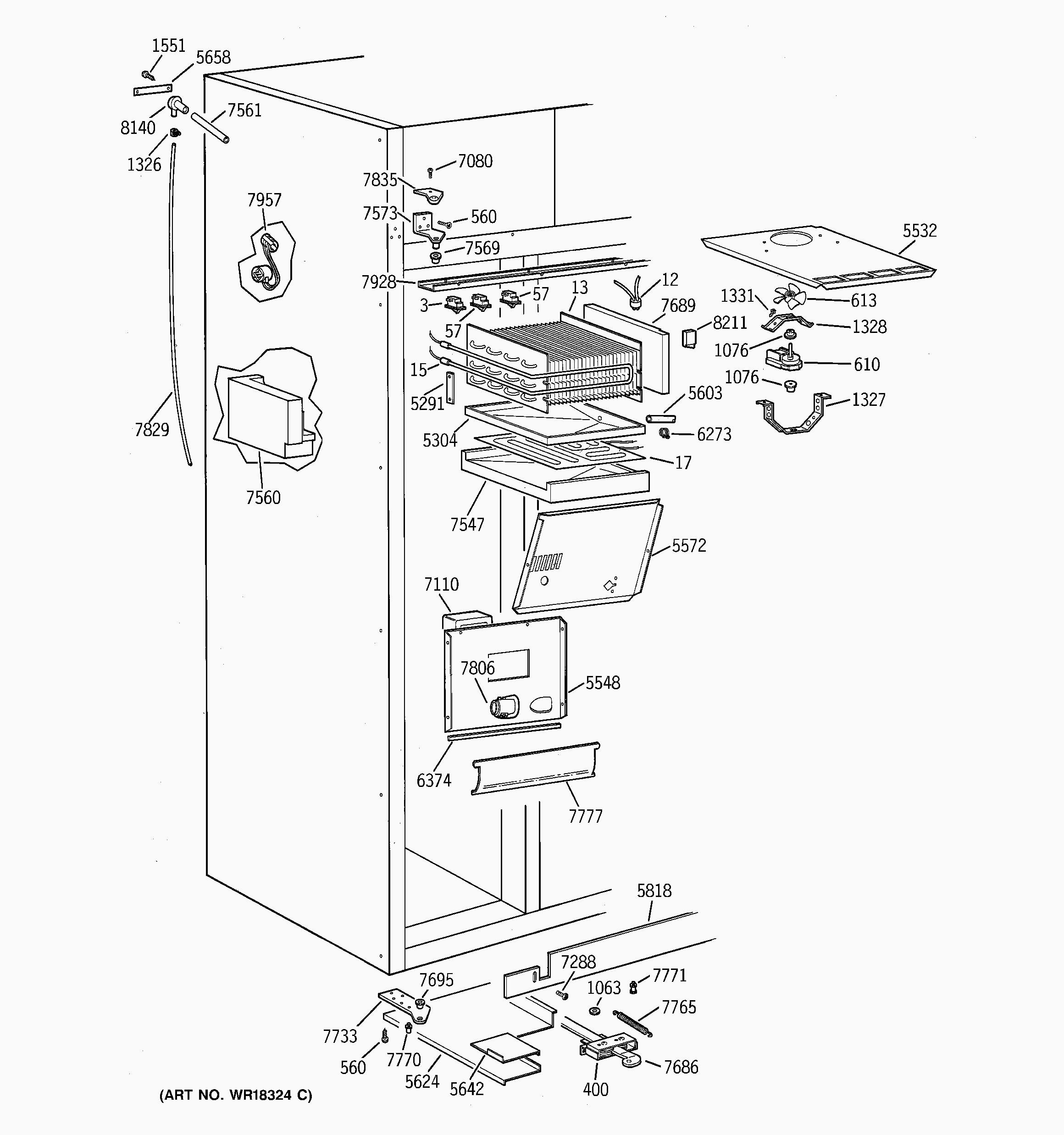 ge monogram refrigerator parts diagram ge adora