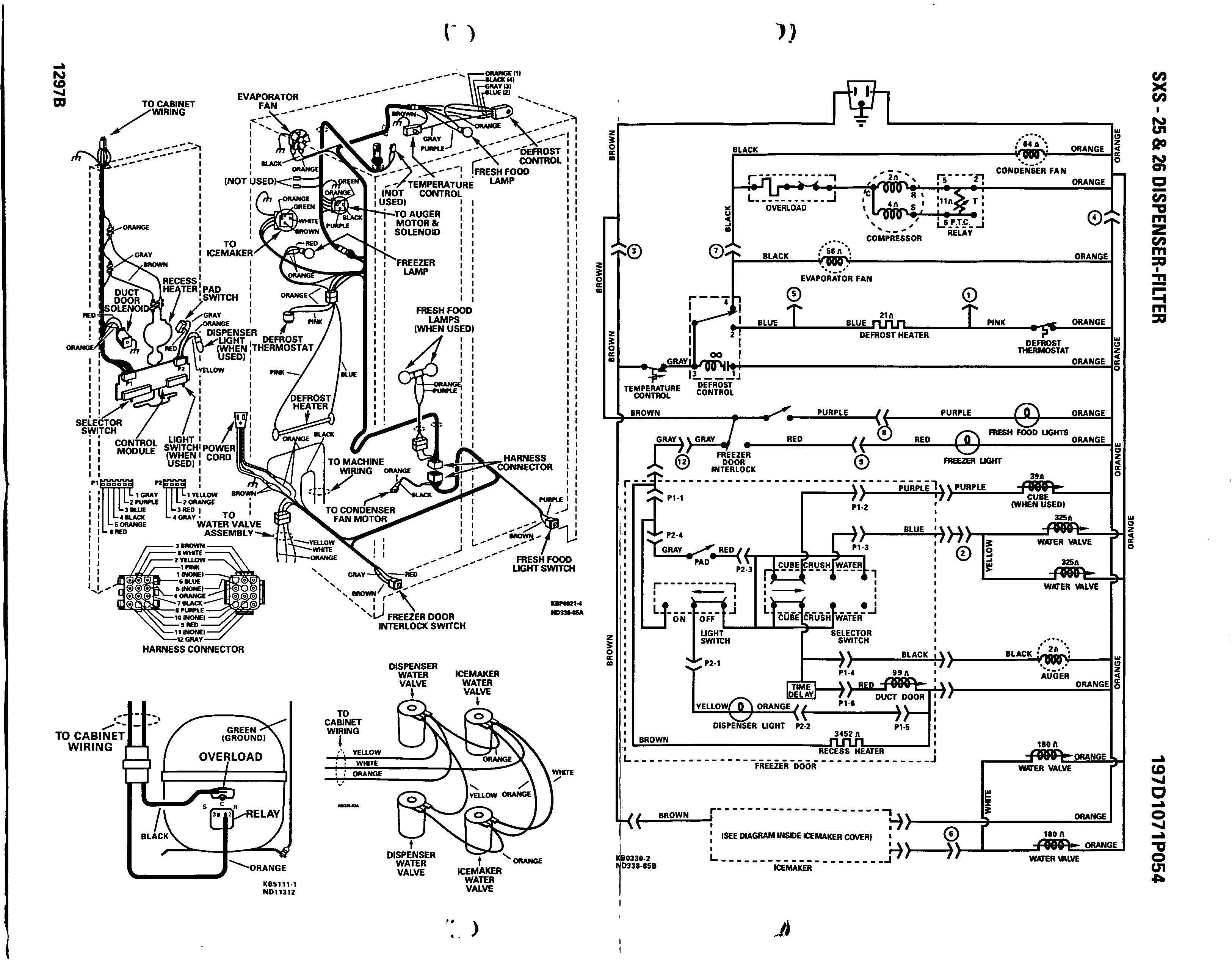 Ge Monogram Refrigerator Parts Diagram Ge Adora Refrigerator Wiring Diagram Wire Whirlpool Gold Pressor Of Ge Monogram Refrigerator Parts Diagram