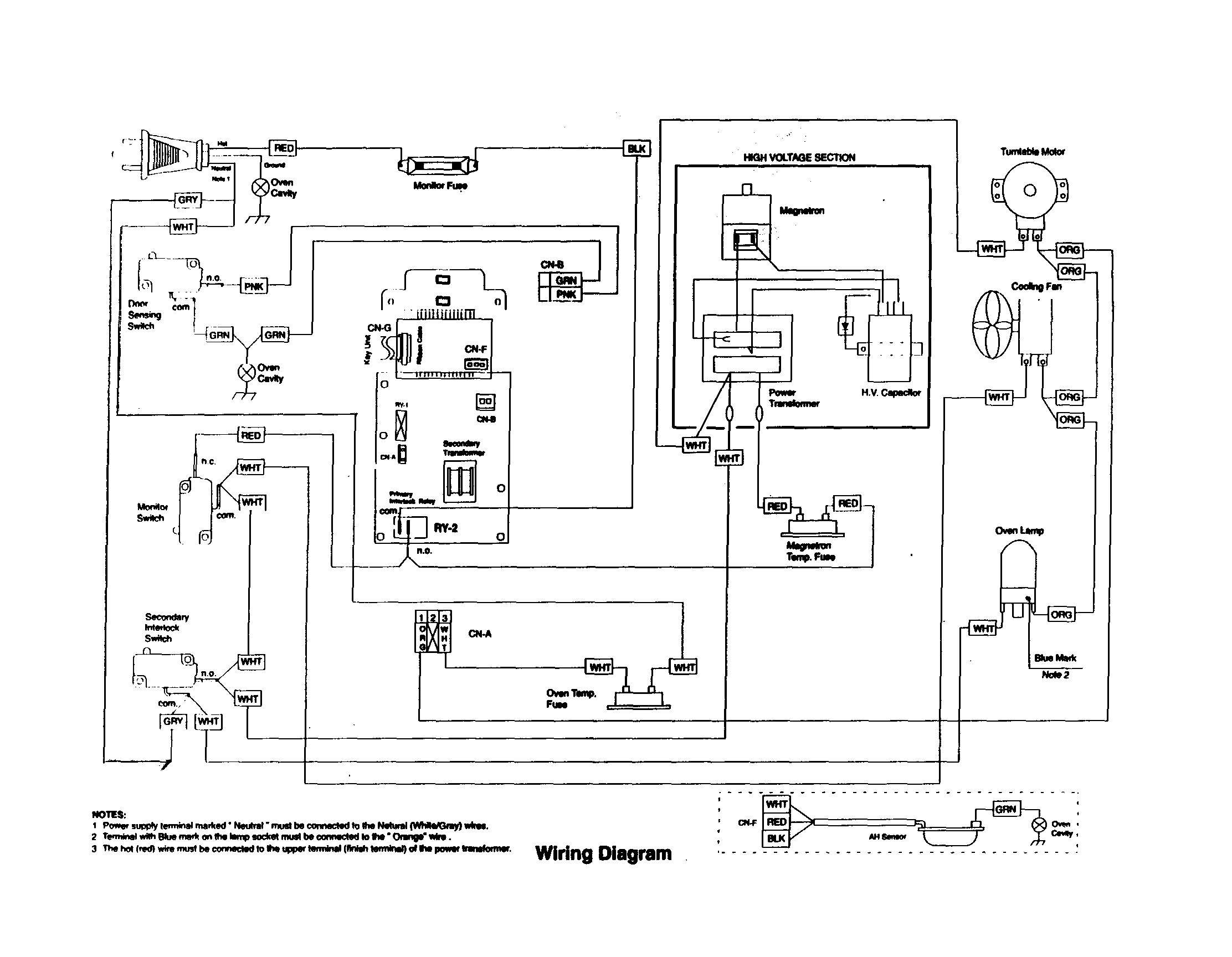 nice oven wiring diagram ornament