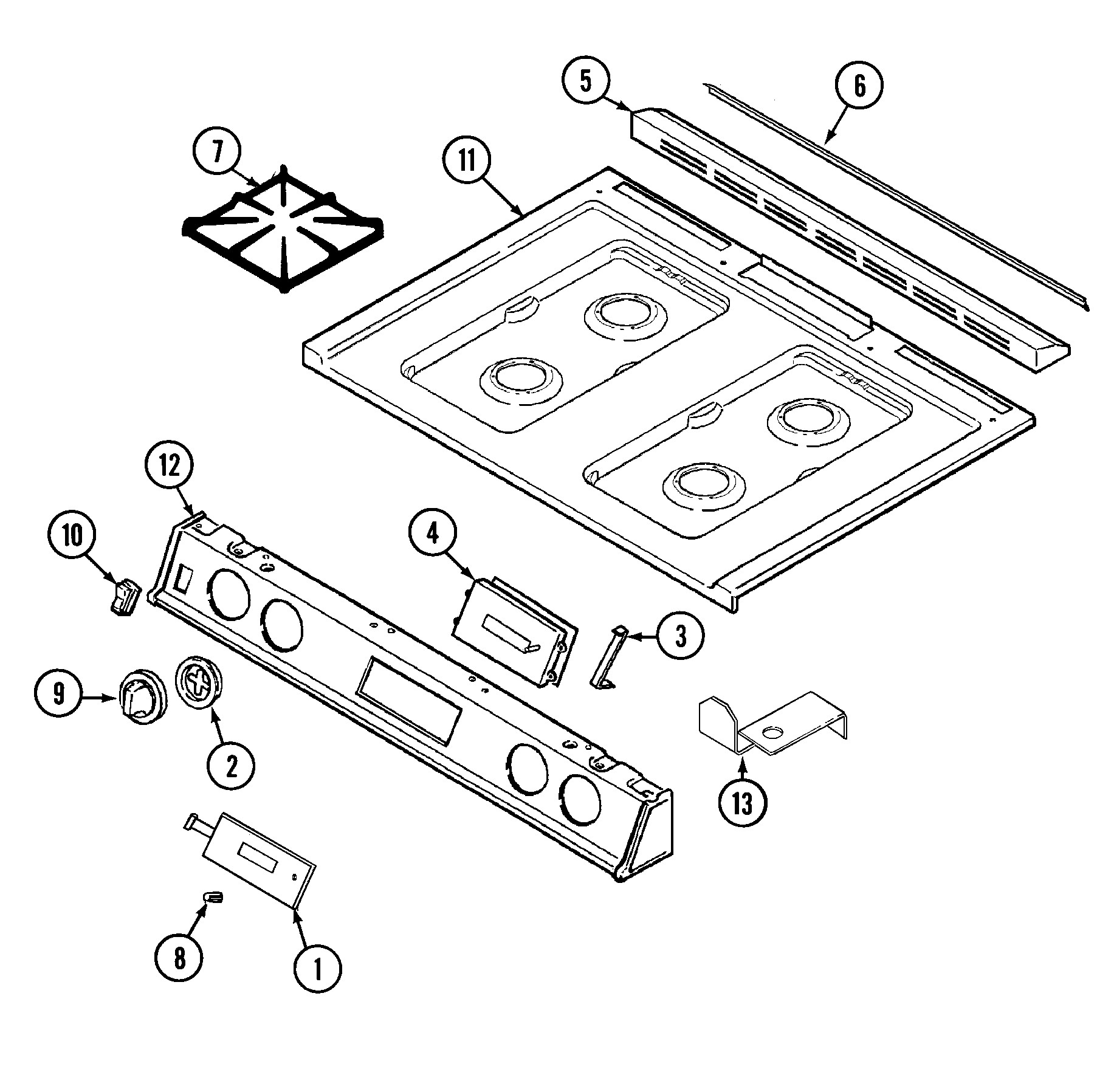 Ge Washing Machine Parts Diagram Magic Chef 6498vra Gas Range Timer Stove Clocks and Appliance Timers Of Ge Washing Machine Parts Diagram