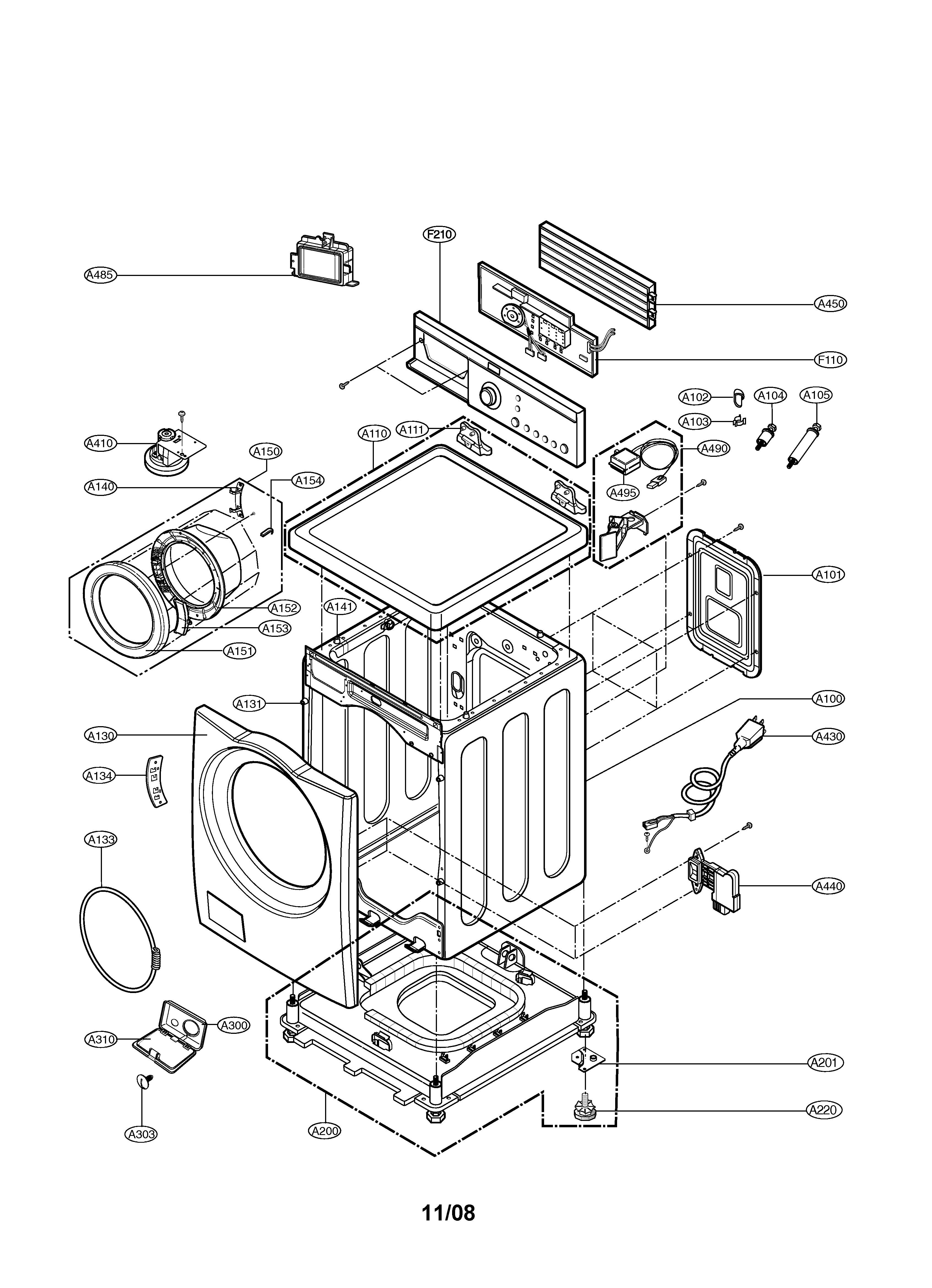 Ge Xl44 Parts Diagram Lg Model Wm1812cw Residential Washers Genuine Maytag Washer Control Panel Mah4000aww