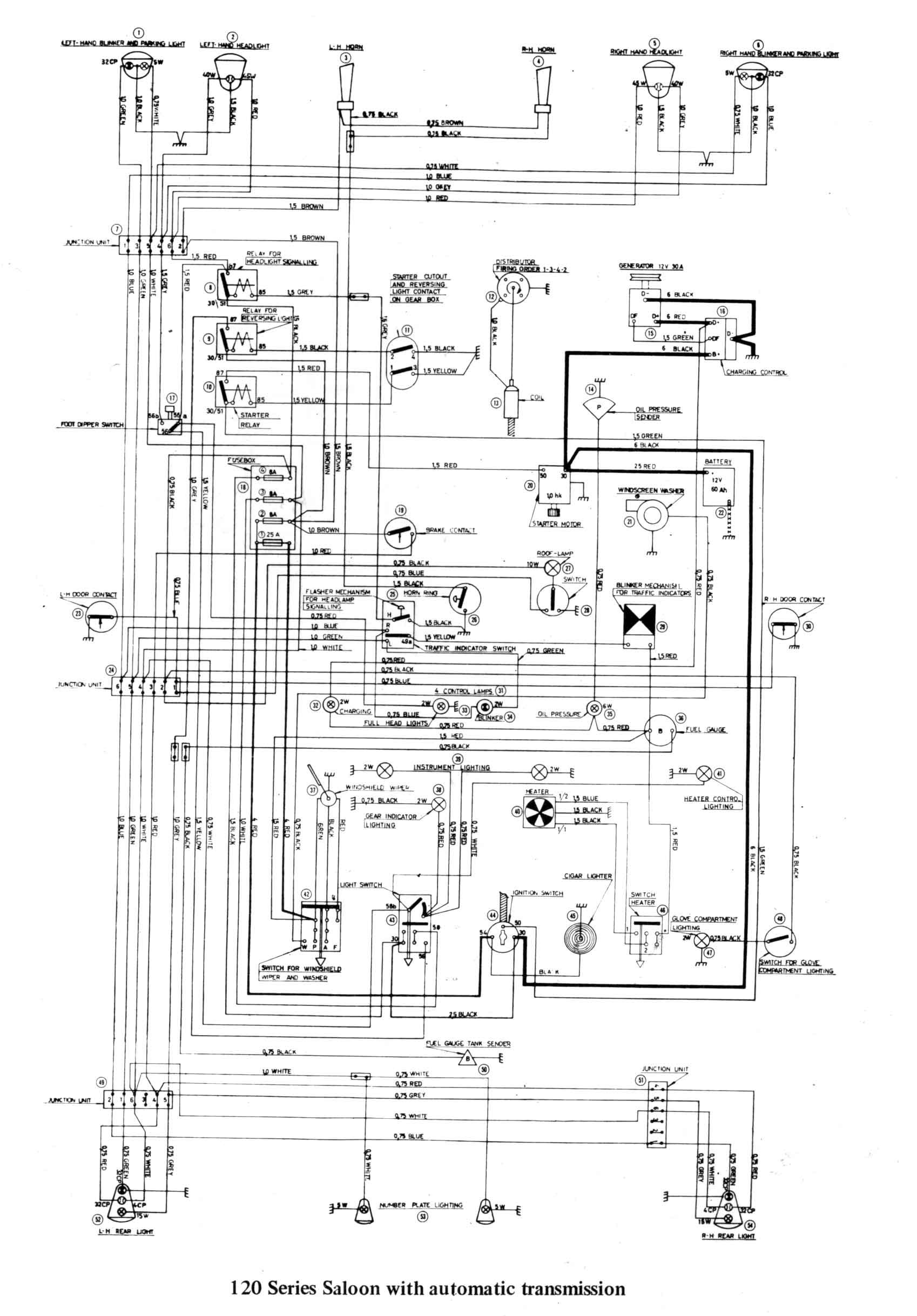 Gear Shift Diagram Sw Em Od Retrofitting On A Vintage
