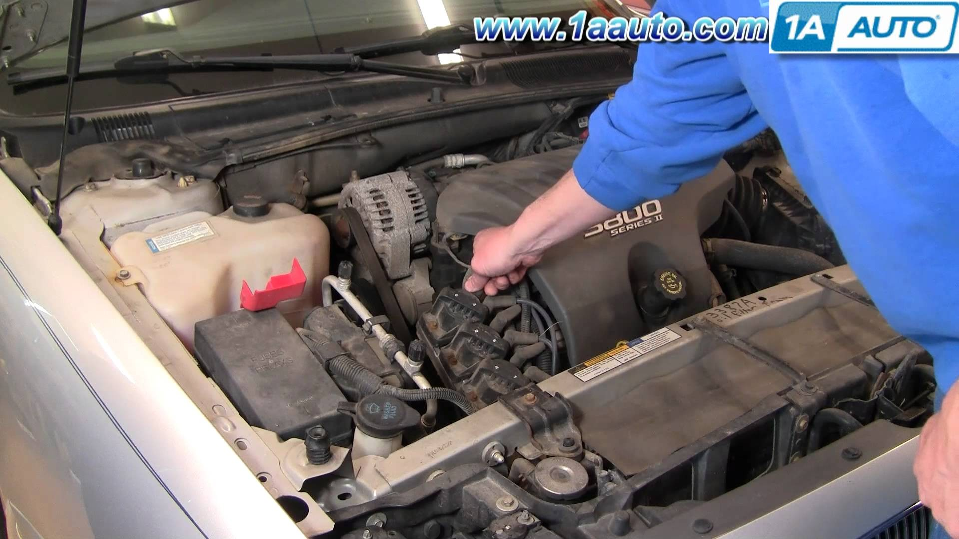 Gm 3800 V6 Engine Diagram How To Install Replace Spark Plug Wires Wiring Ignition Coil Buick Lesabre Of
