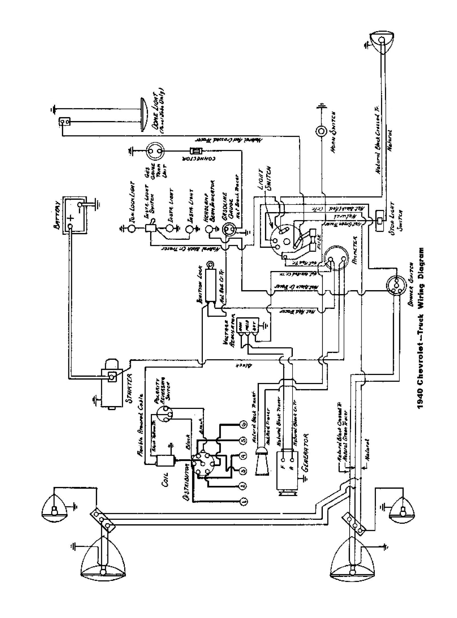 1951 Chevrolet Wiring Diagram - Wiring Diagram News •
