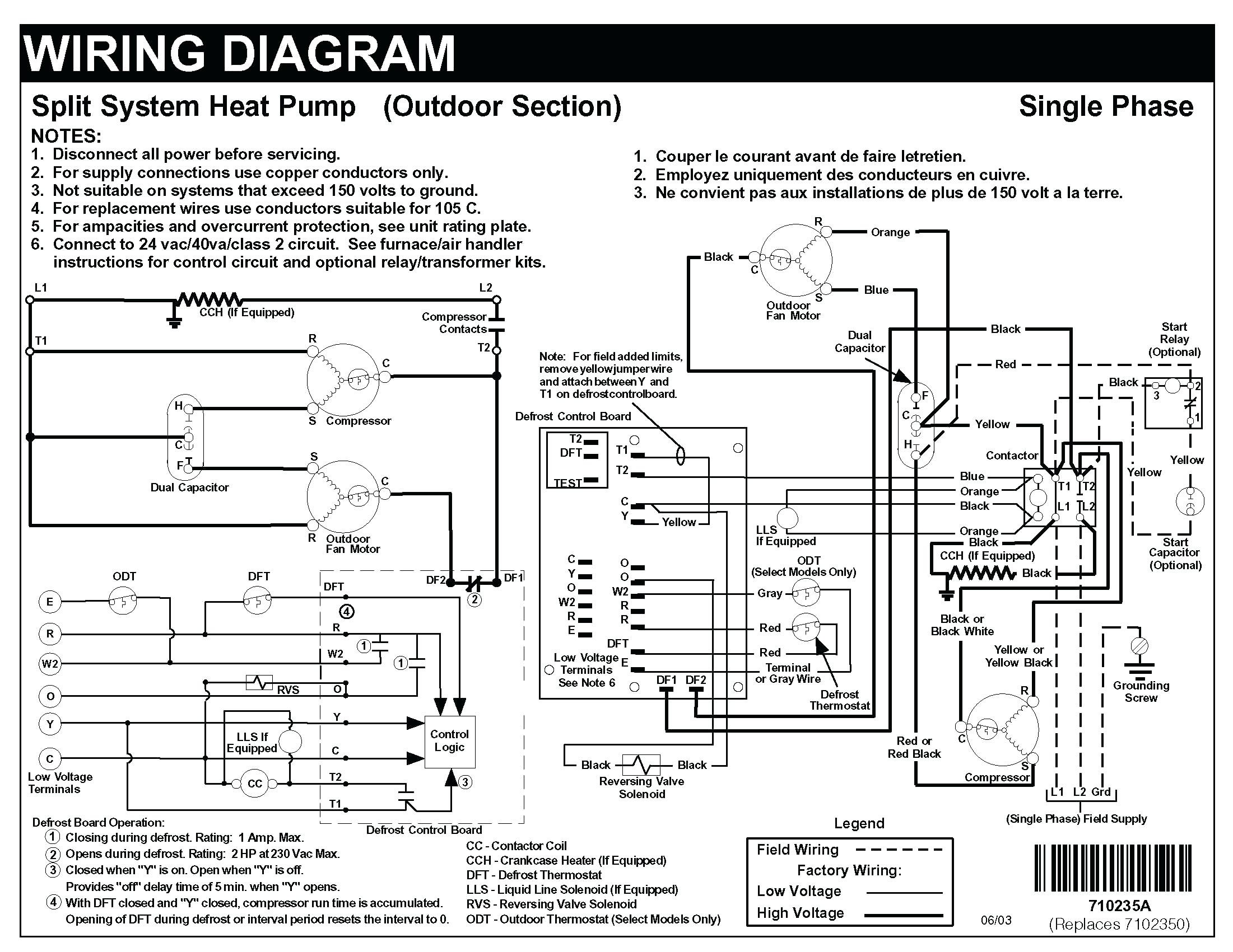 Heat Pump Wiring Diagrams Wiring Diagram Honeywell Heat Pump thermostat Unique for with W Nest Of Heat Pump Wiring Diagrams