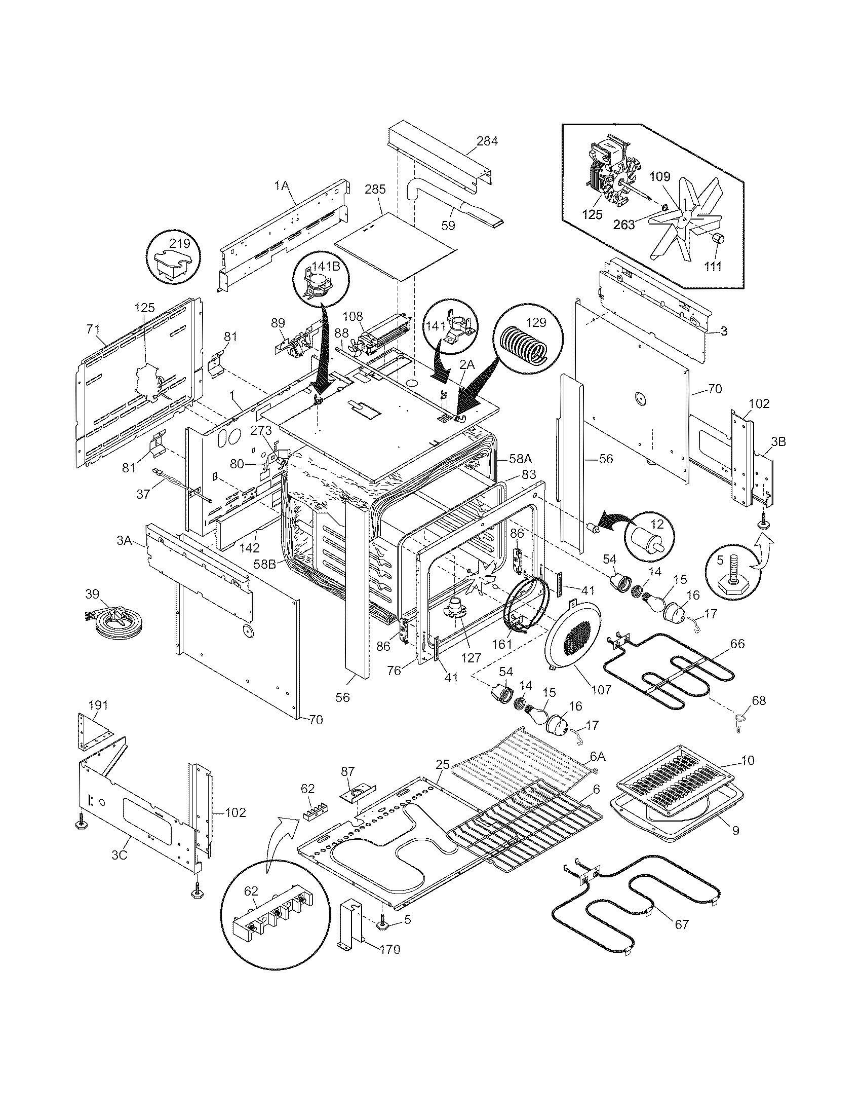Hobart A200 Mixer Parts Diagram