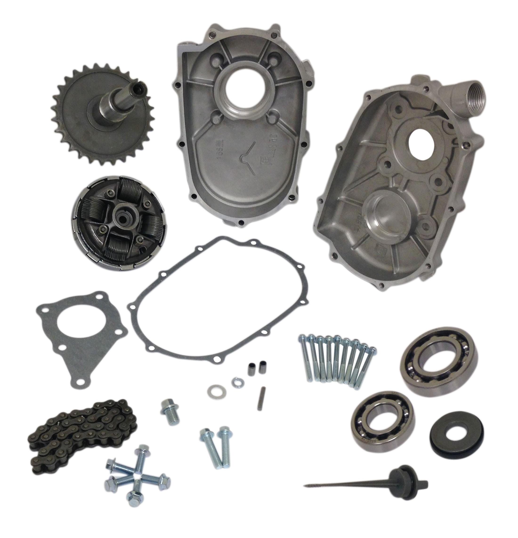 Honda 5 Hp Engine Diagram Pvl Flywheel For 6 Clone Parts 2 1 Reduction Gearbox Kit 5hp Gx200