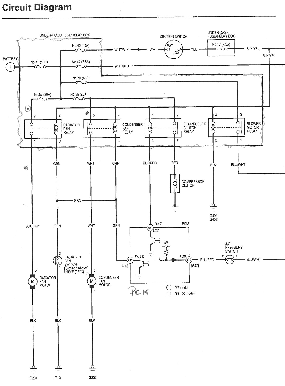 2003 Honda Accord Stereo Wiring Diagram And Adorable blurts