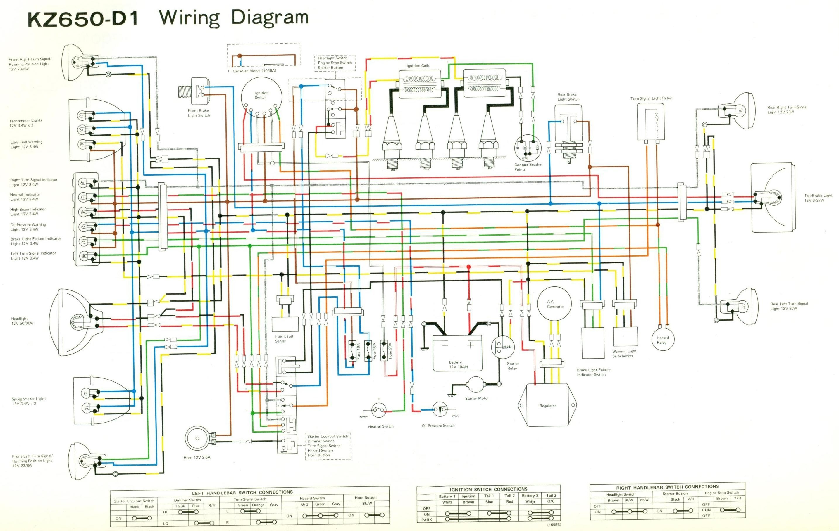 Motorcycle Wiring Diagram Symbols