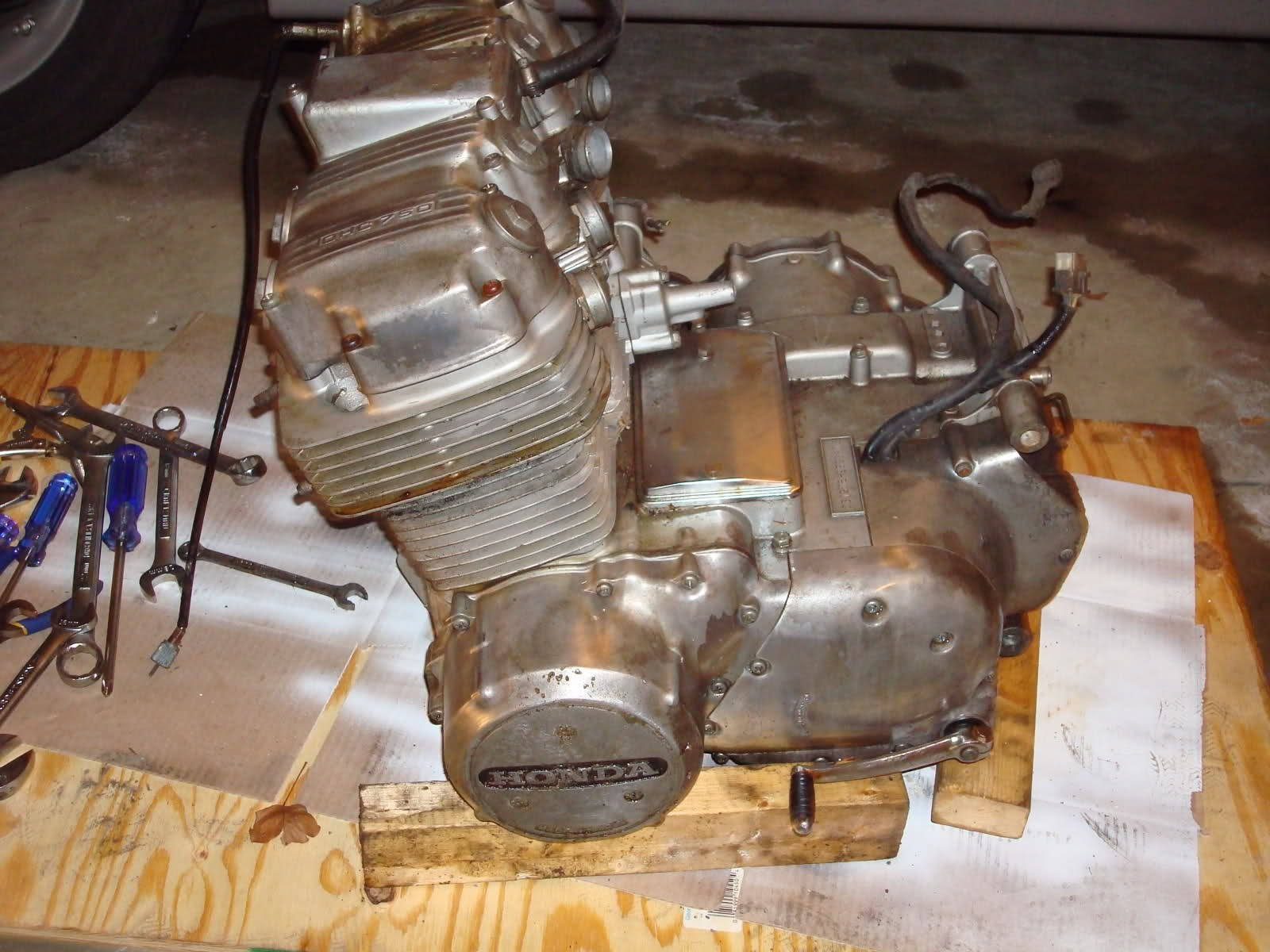 Honda Cb750 Engine Diagram Simple Motorcycle Wiring For Cafe Motor Rebuild Dummies Of