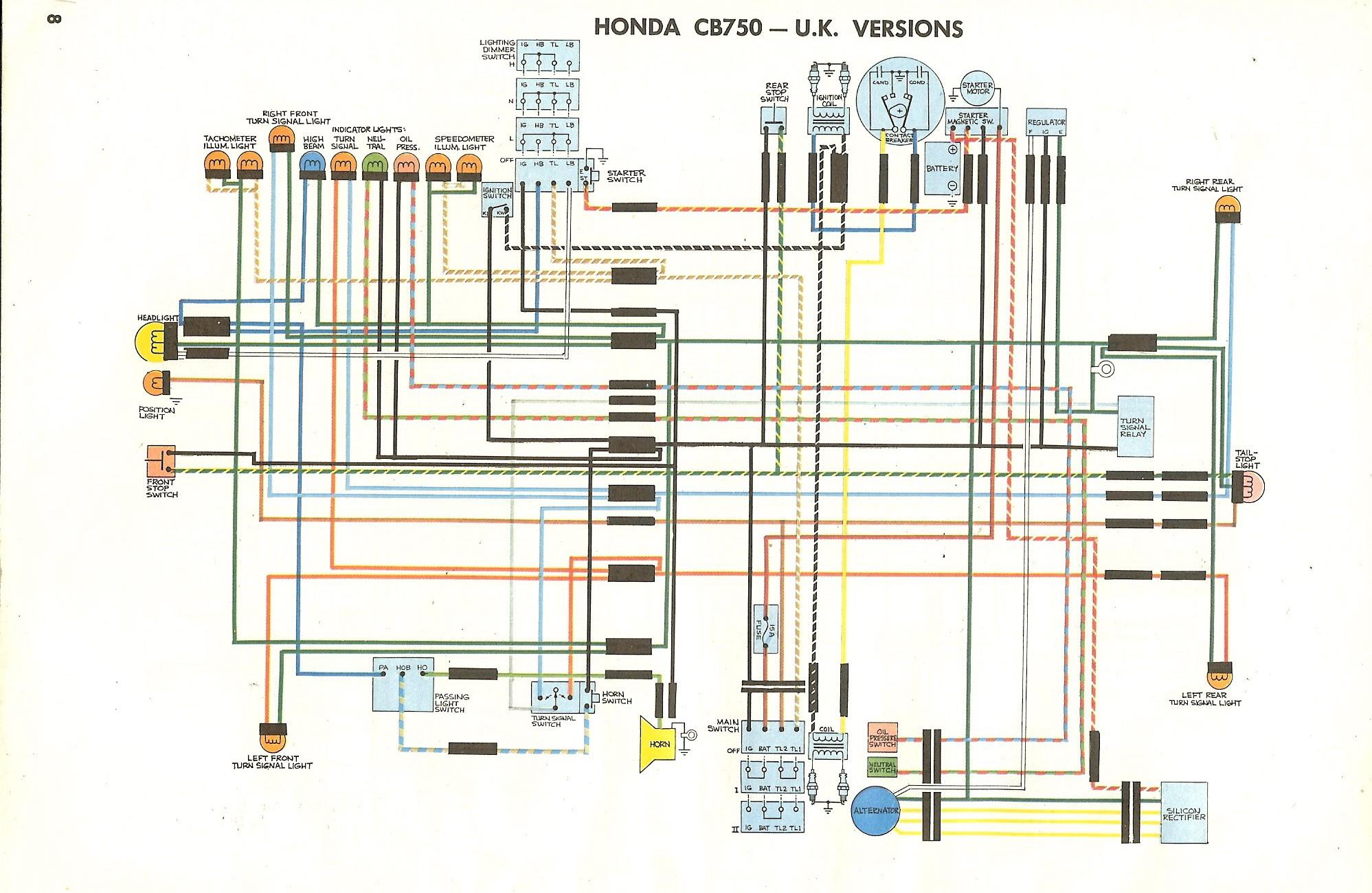 Honda Cb750 Engine Diagram Honda Spreering Diagram Cb750k Spree Wiring  Sample Schematic 1984 Of Honda Cb750