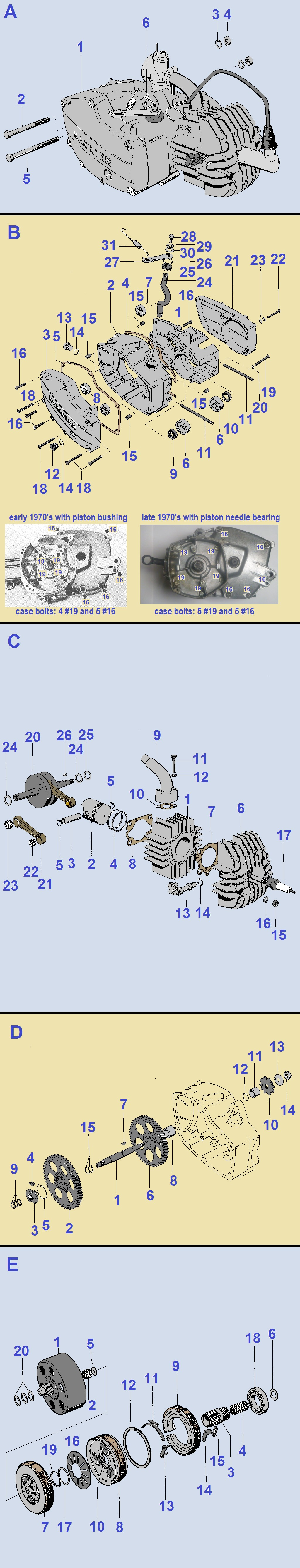 Honda Elite 80 Parts Diagram My Wiring Myrons Mopeds Of