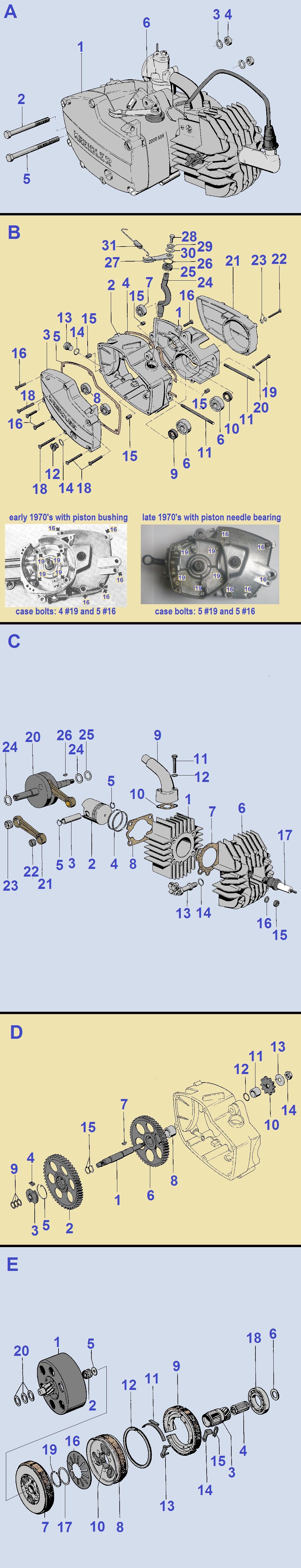 Honda Elite 80 Parts Diagram My Wiring Myrons Mopeds Of