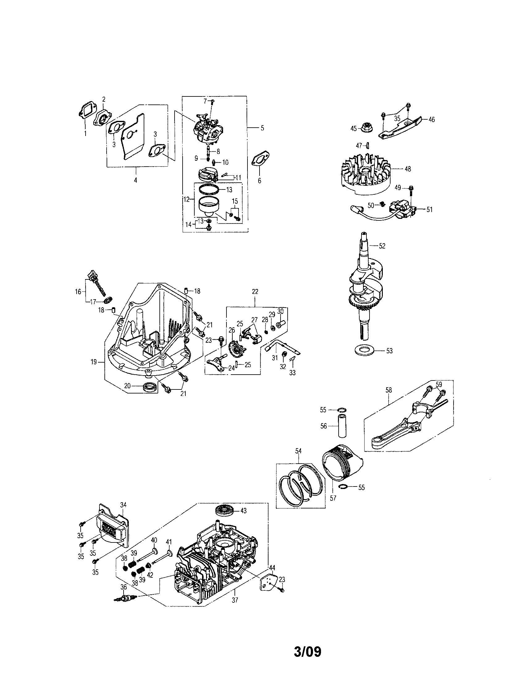 Honda Gcv160 Engine Diagram Honda Model Gcv160 Lan5r Engine Genuine Parts Of Honda Gcv160 Engine Diagram